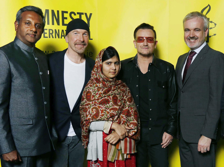 Malala Yousafzai, premio «Embajador de Conciencia» de Amnistía Internacional