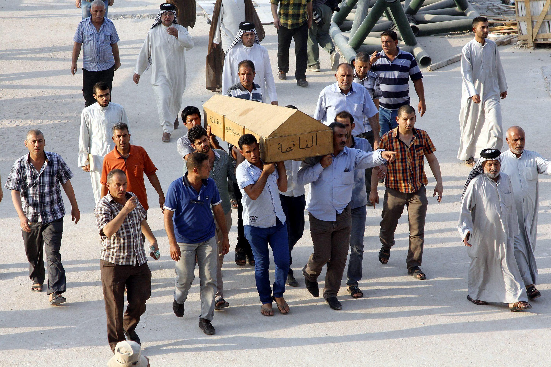 Al menos 20 muertos y 80 heridos en una serie de explosiones en Bagdad