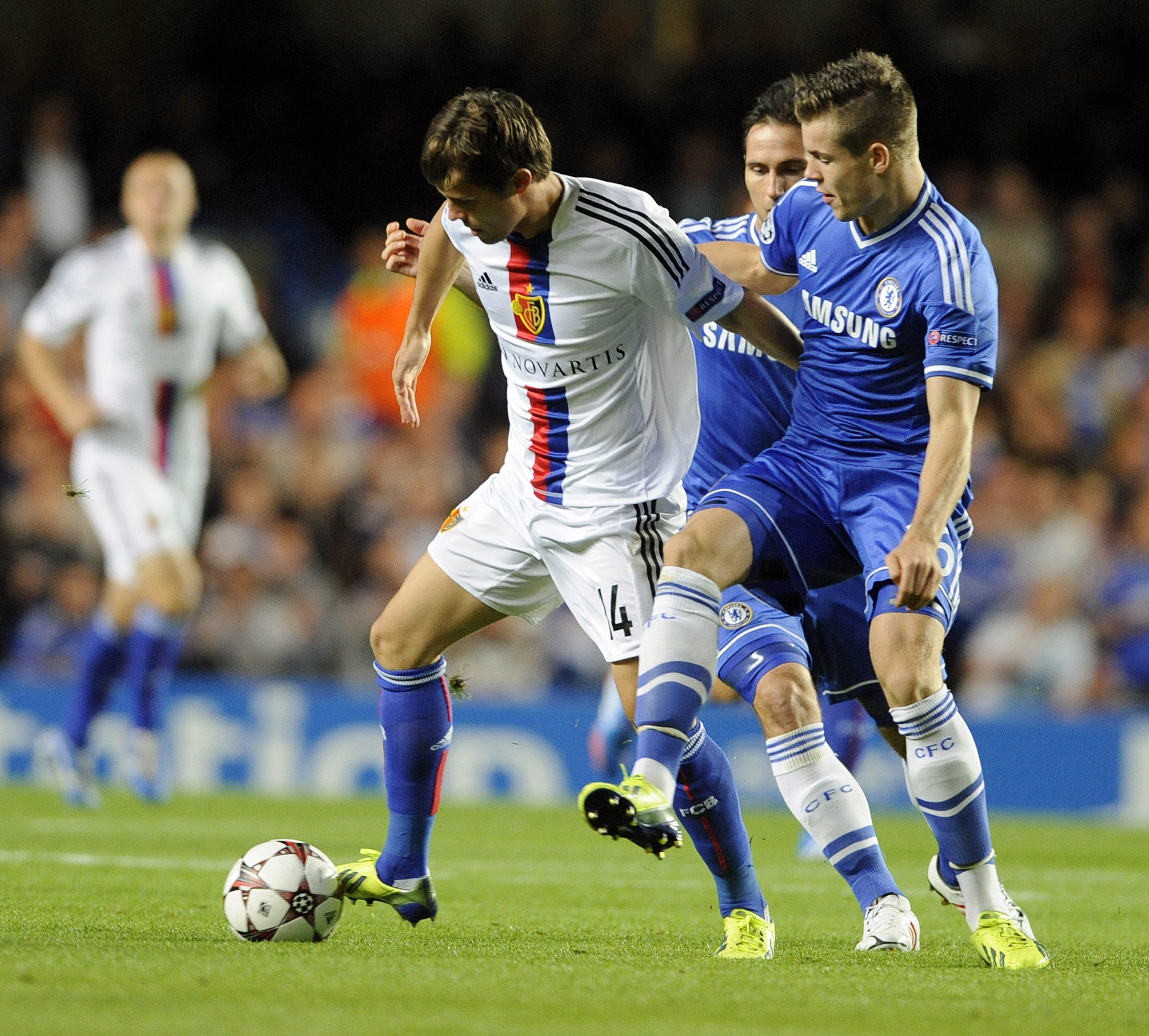 'Mou' y el Chelsea son soprendidos por el FC Basilea en Londres