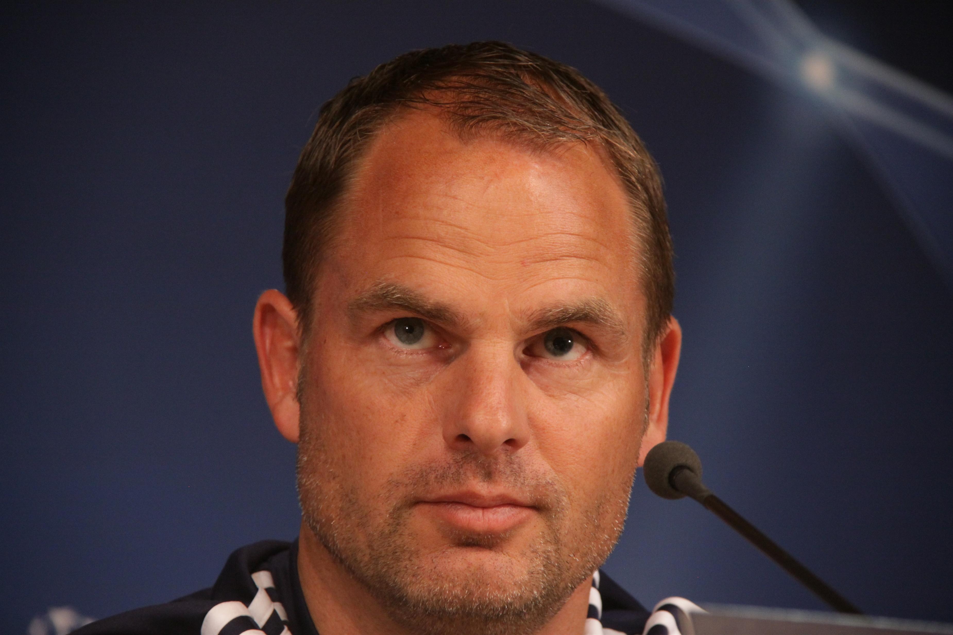 De Boer: «No puedes irte contento con 4-0 pero he visto cosas buenas»