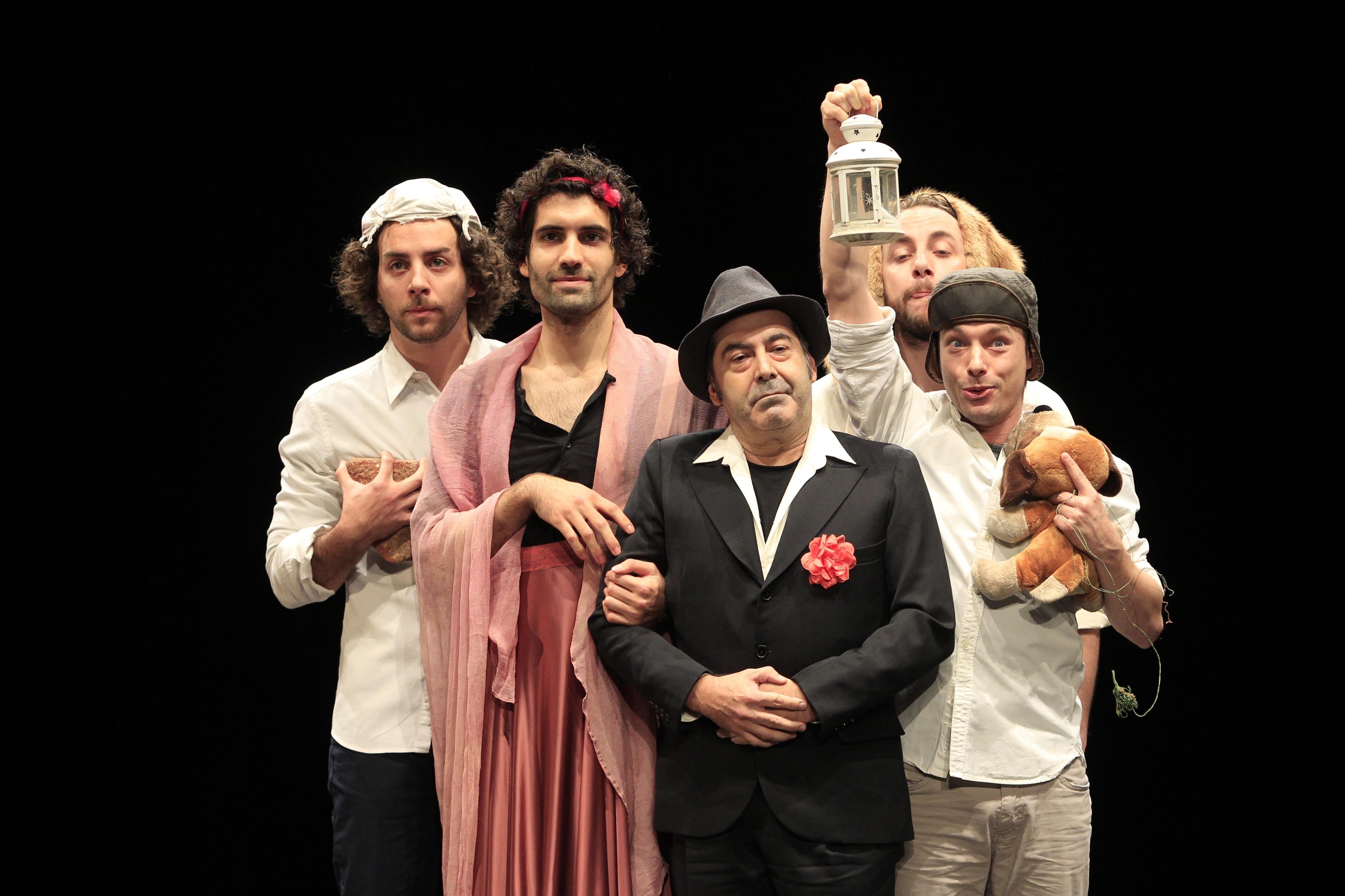 »Comedia y Sueño», el montaje teatral que une obras de Lorca y Shakespeare, llega a Madrid