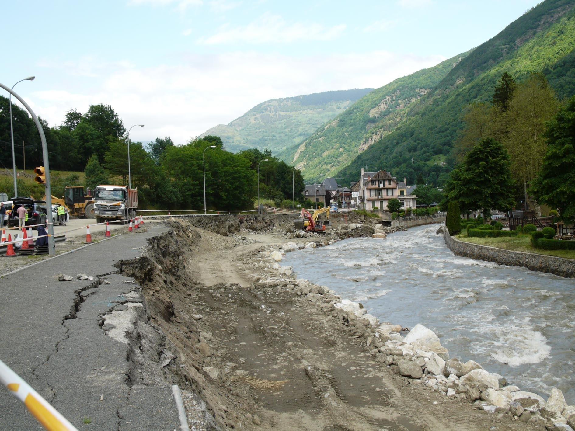 El Consorcio de Seguros ha pagado 7,4 millones a los tres meses de las inundaciones del Val d»Aran (Lérida)