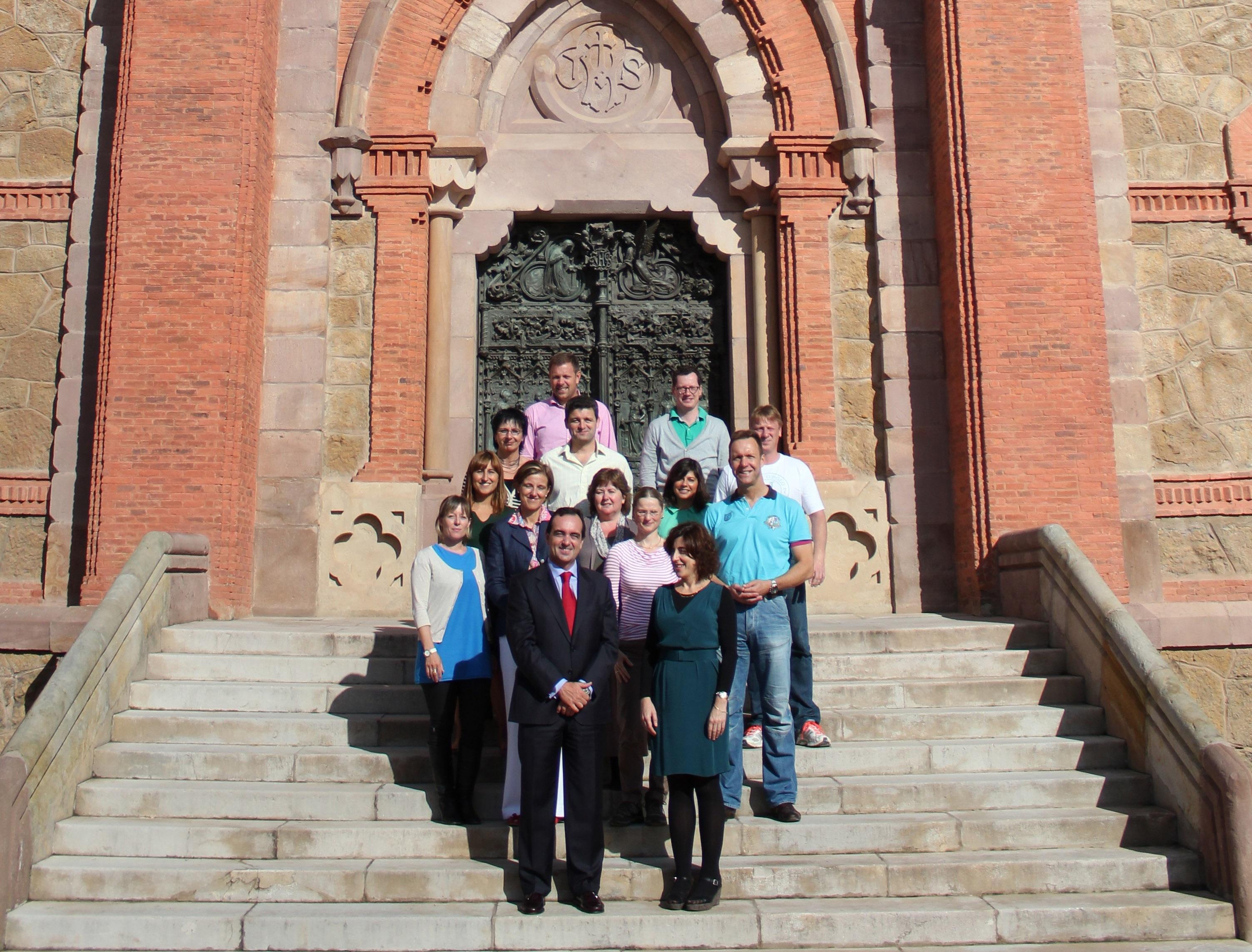 F.Directivos de Alemania y Reino Unido participan en el seminario »Español para las Finanzas y la Banca»