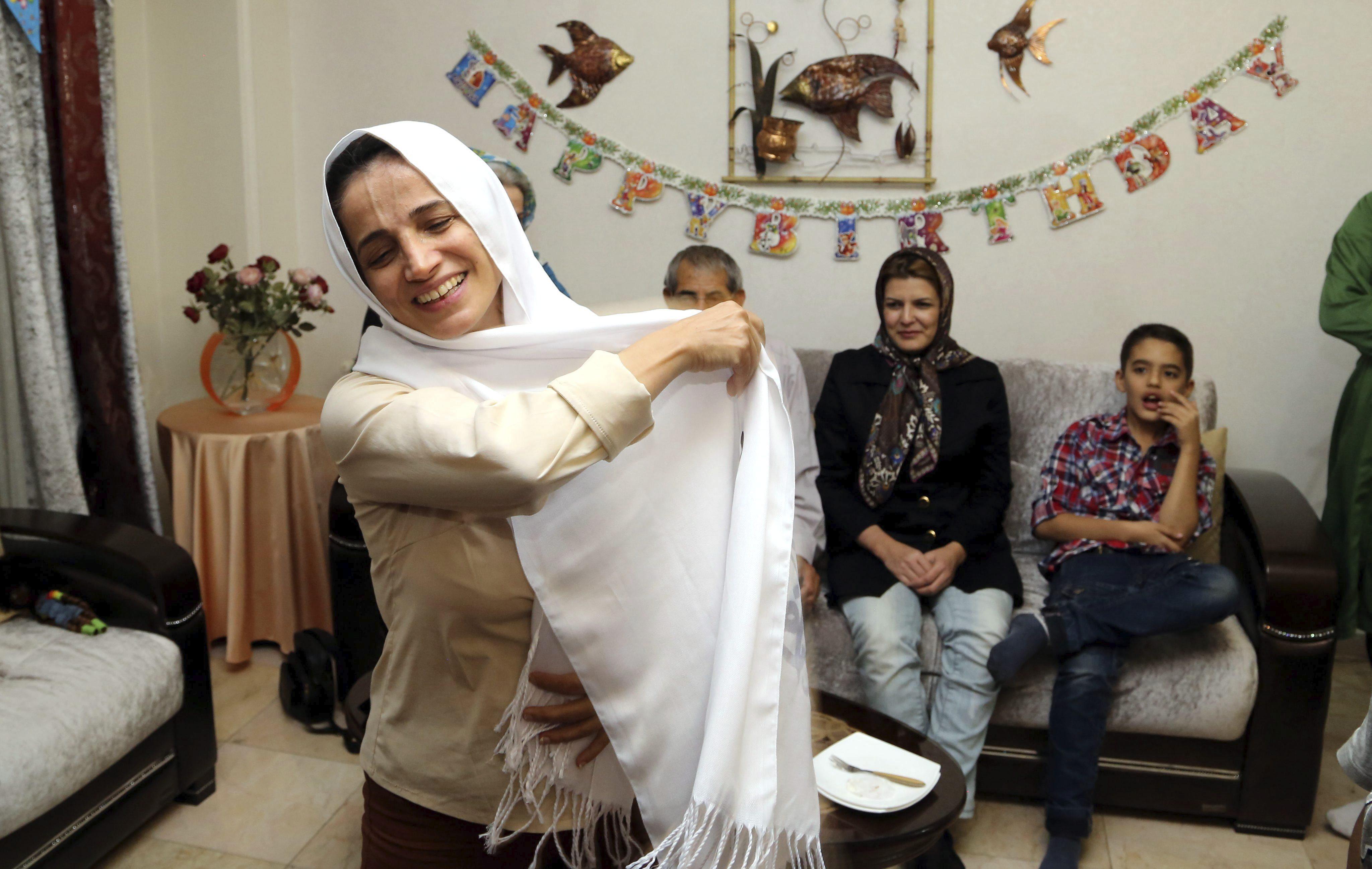 La Eurocámara celebra la liberación de Nasrin Sotoudeh, premio Sájarov 2012