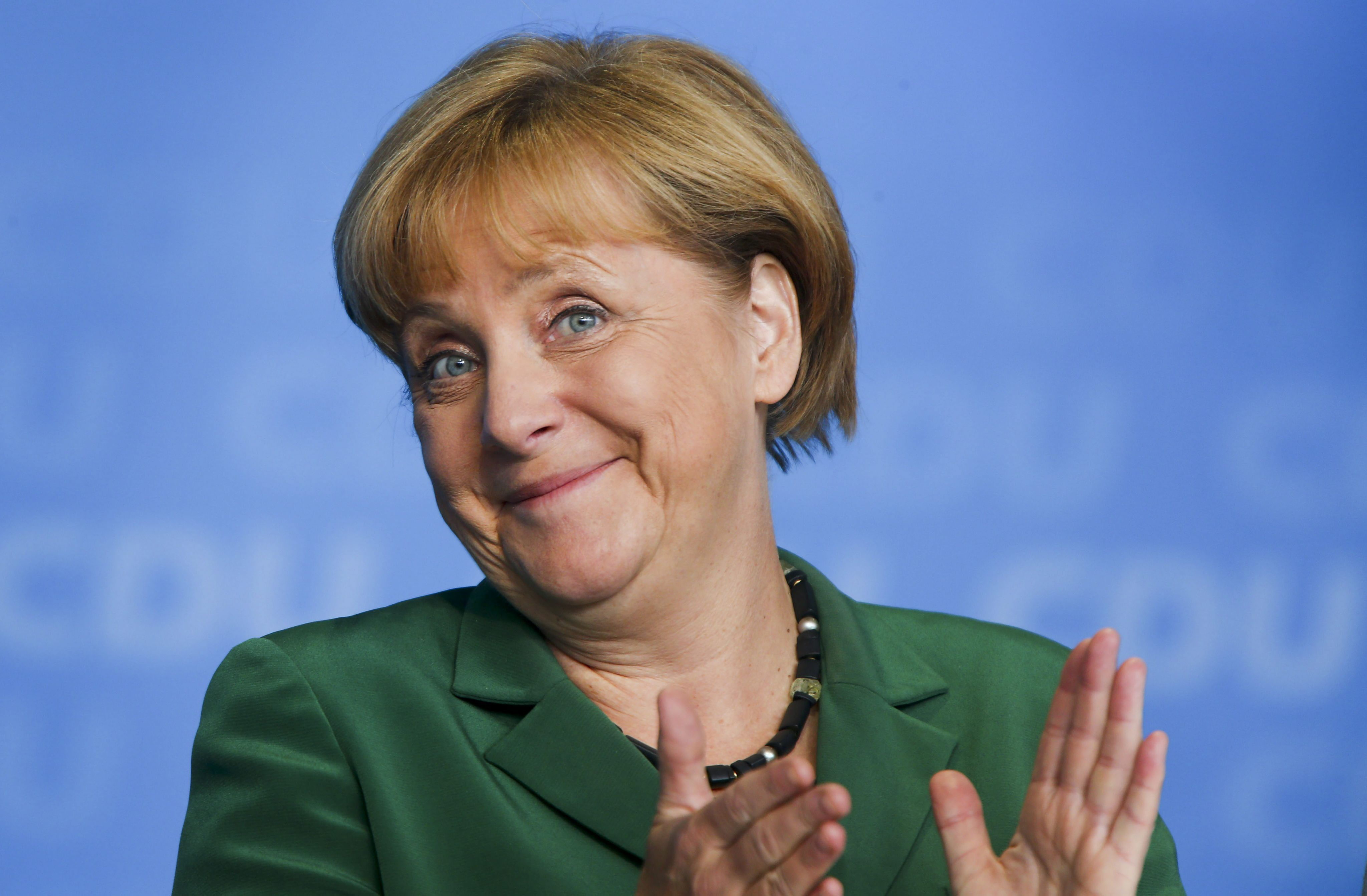 Los euroescépticos contra Merkel