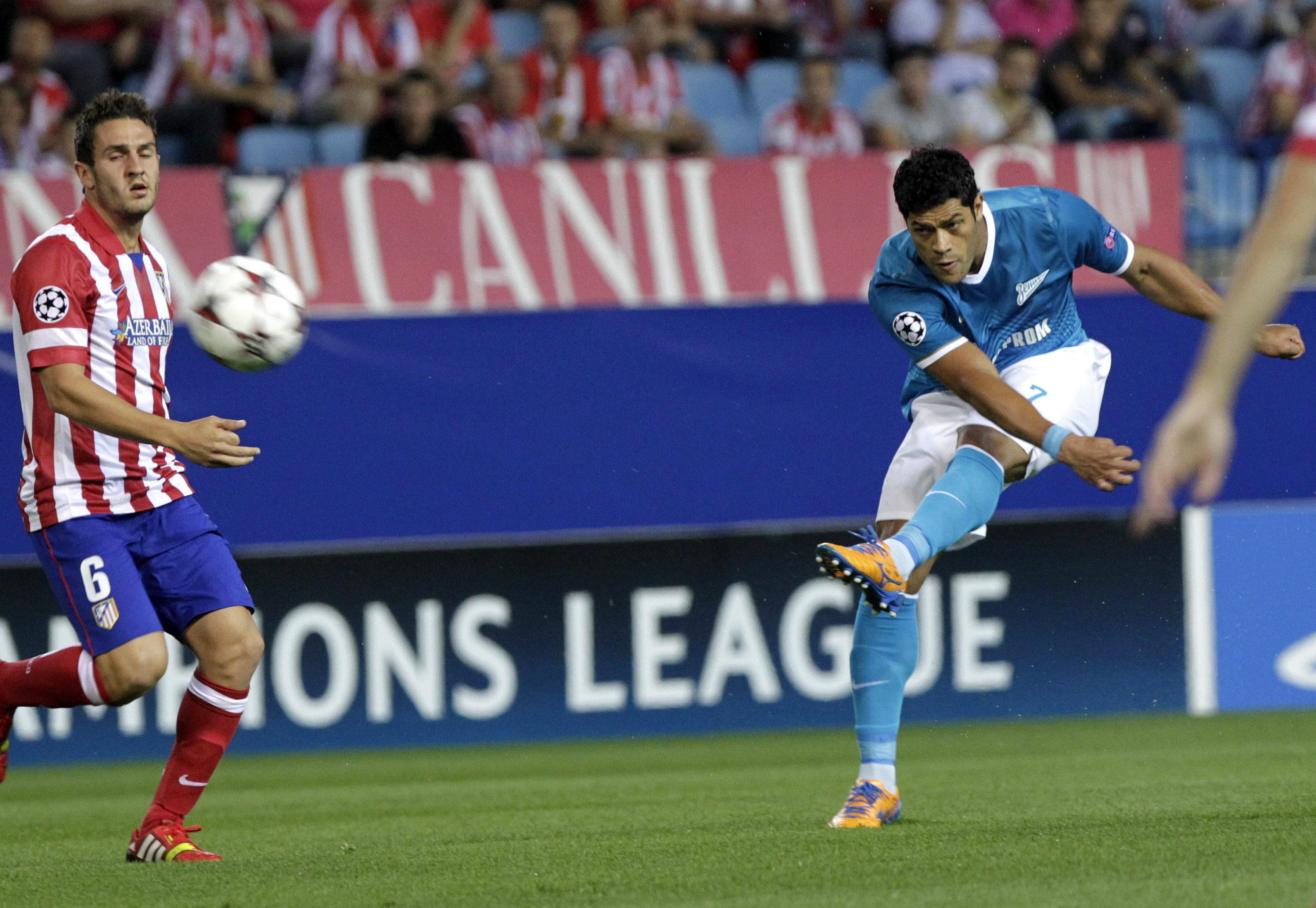 El fútbol, la pasión y la competitividad del Atlético derriban al Zenit