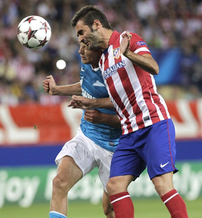 Adrián se rompe la cara por el Atlético