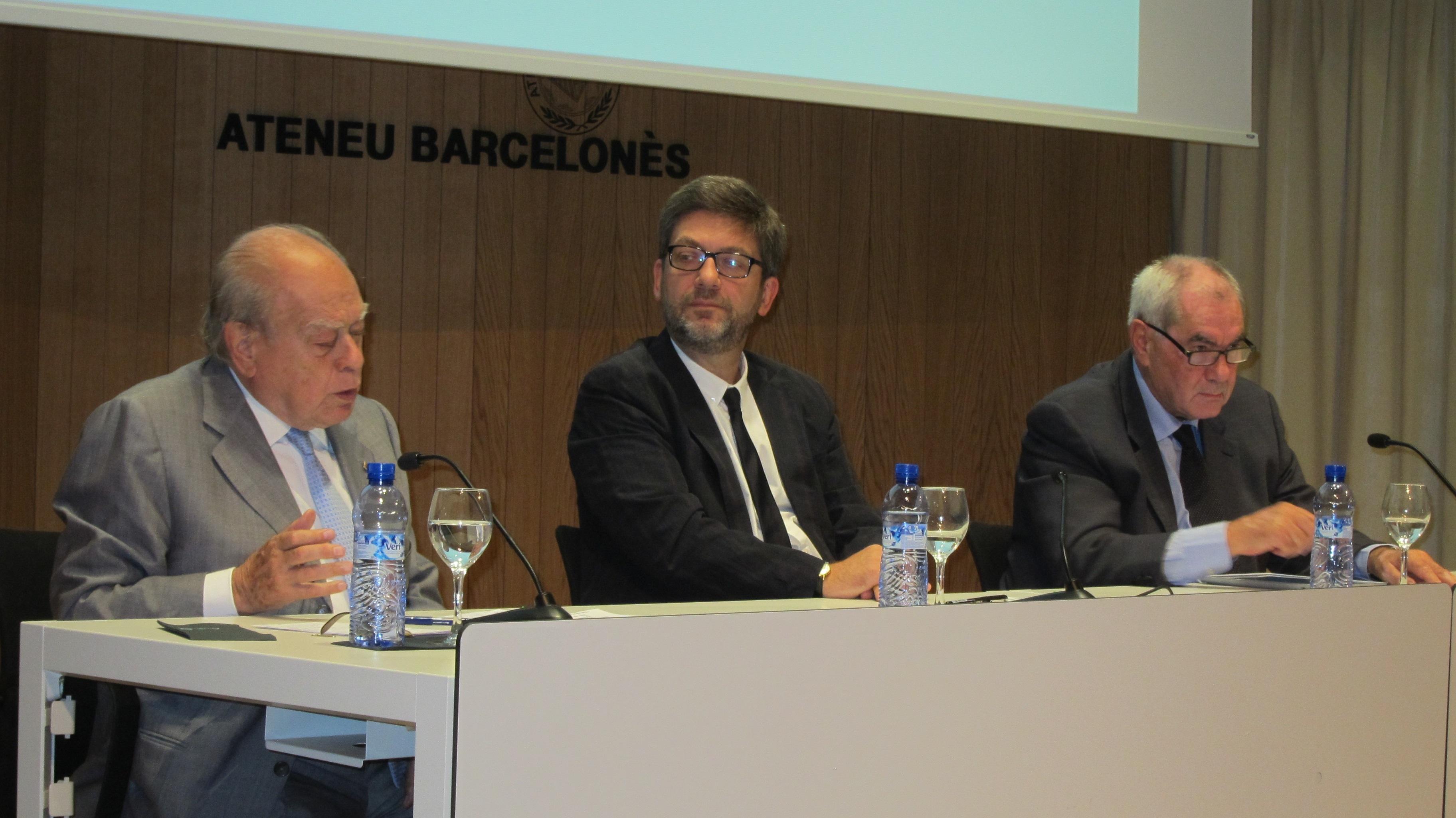 Jordi Pujol deja claro que Cataluña no puede «prescindir» de Europa