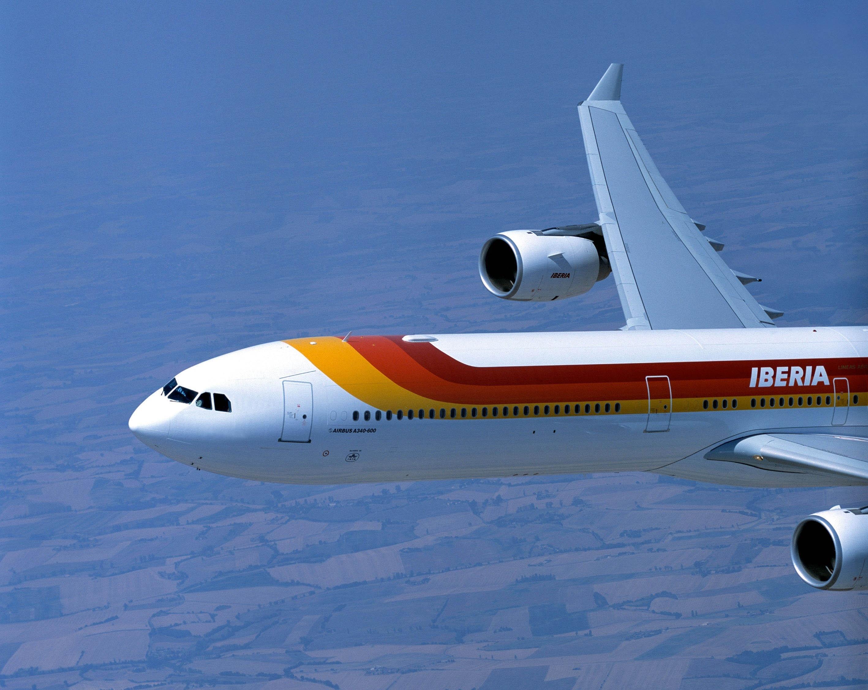 Despega el primer »vuelo social» de Iberia con destino a Nueva York desde Barajas