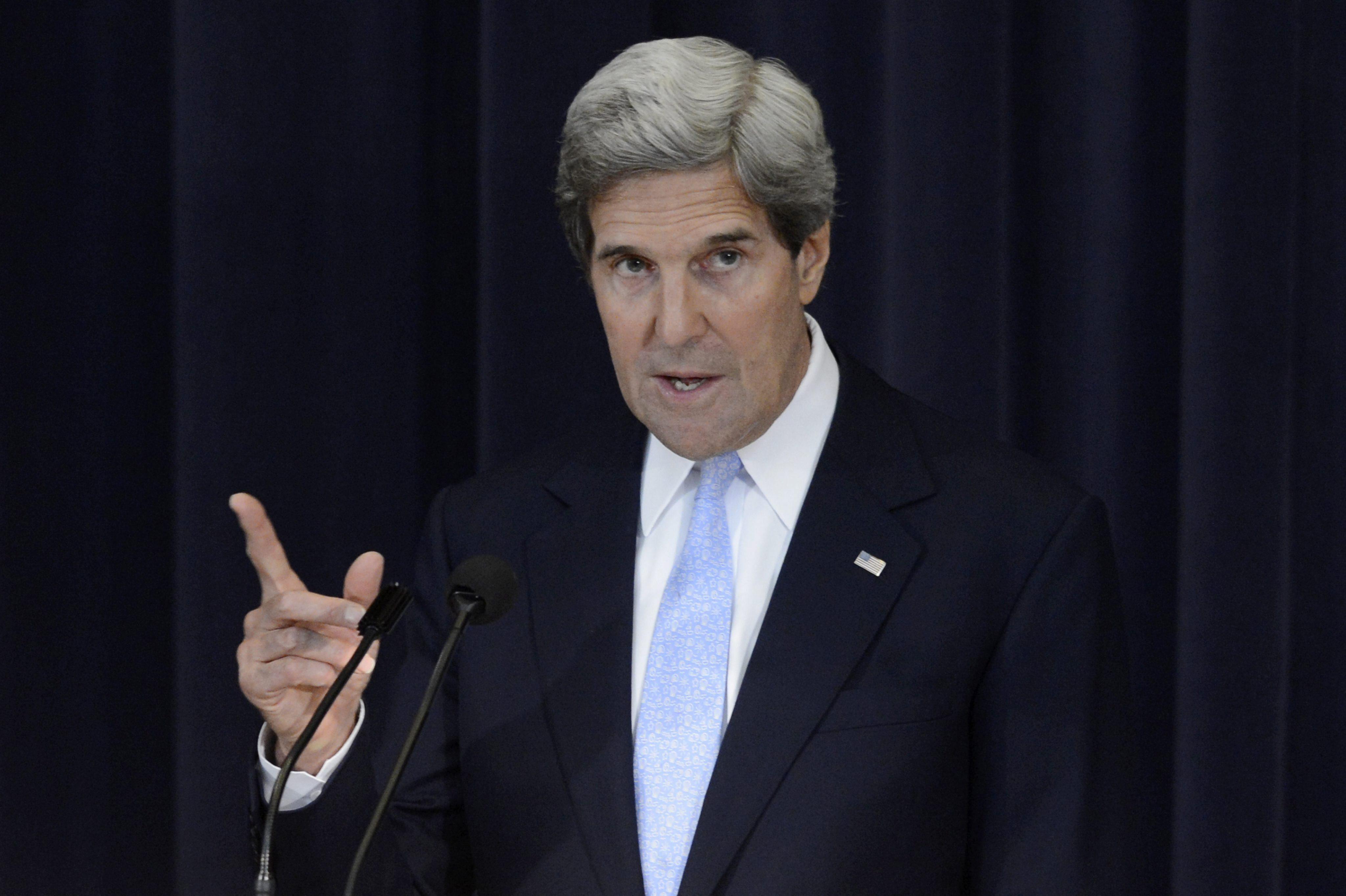 Kerry telefoneó a Lavrov para avanzar en una resolución fuerte sobre Siria