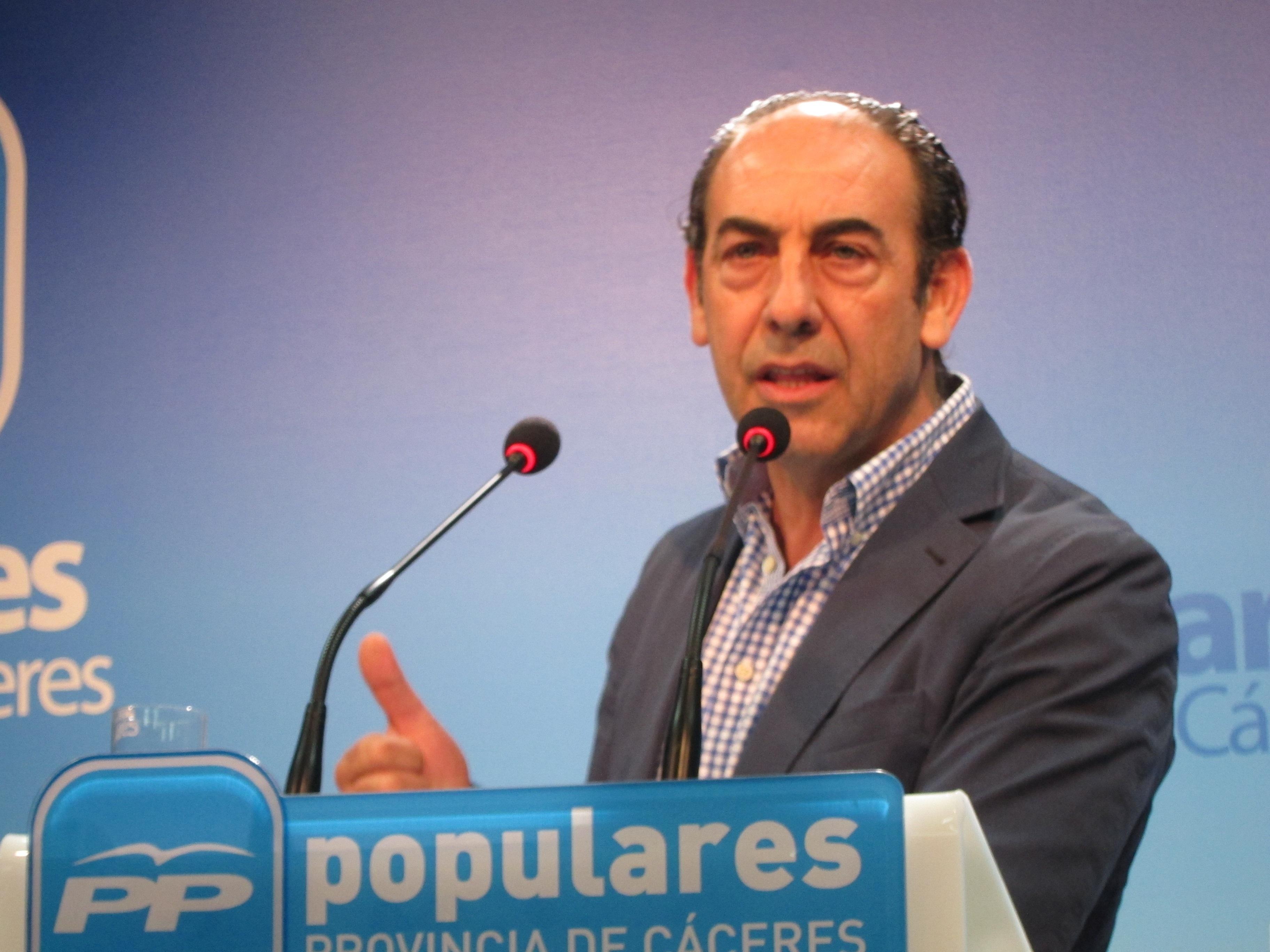 PP de Cáceres censura la «actitud» del PSOE ante una reforma local «necesaria» para la «regularización» de ayuntamientos
