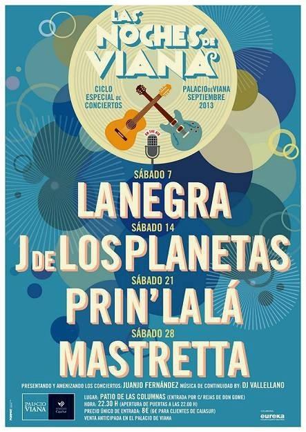 Prin»Lalá actúa este sábado en el Palacio de Viana en el ciclo de conciertos organizado por CajaSur