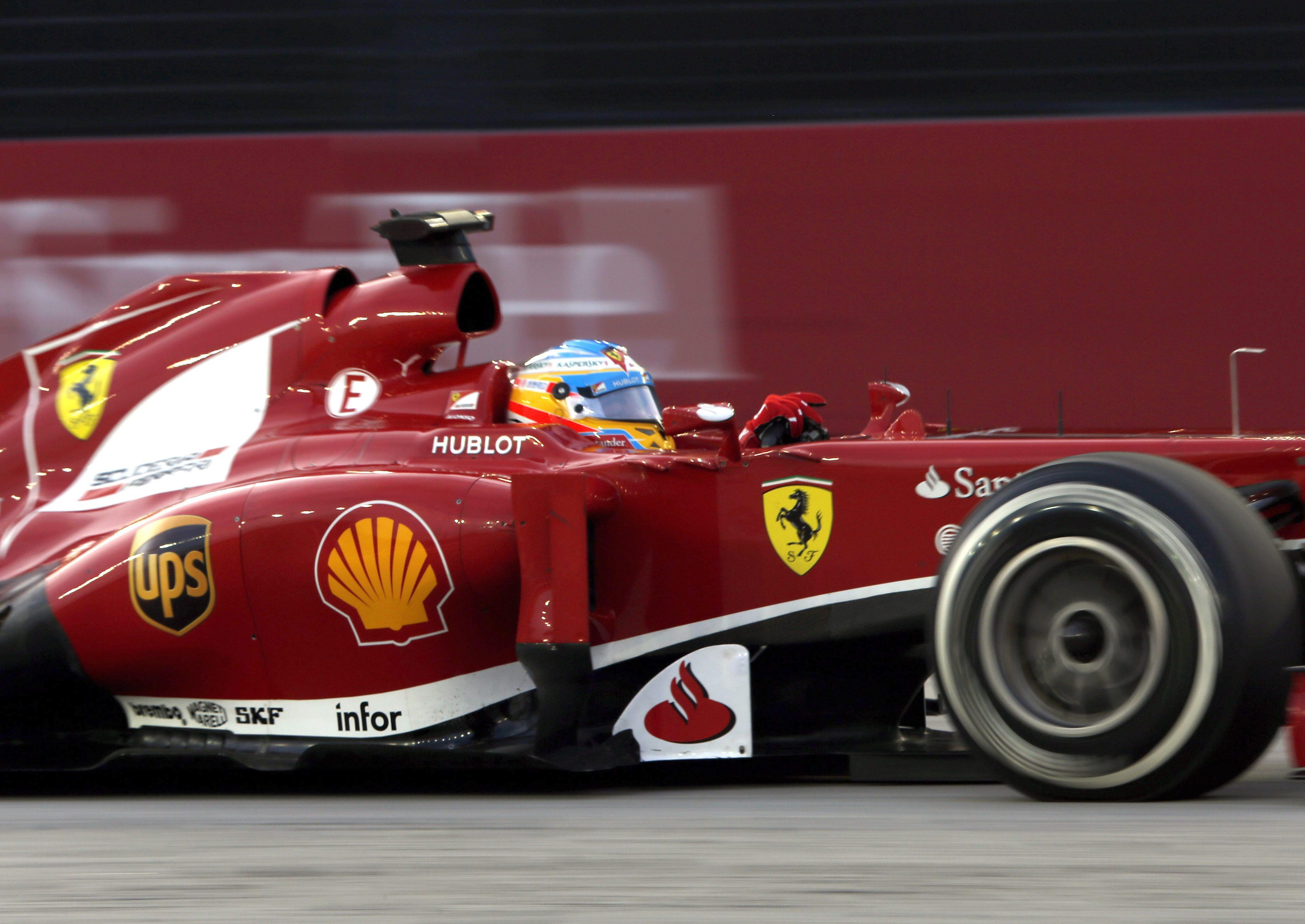Quinta »pole» para un Vettel sobrado y Alonso séptimo