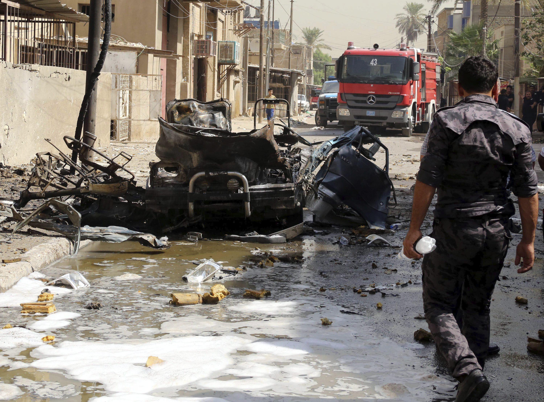 Al menos 50 muertos en un atentado con coche bomba en Bagdad