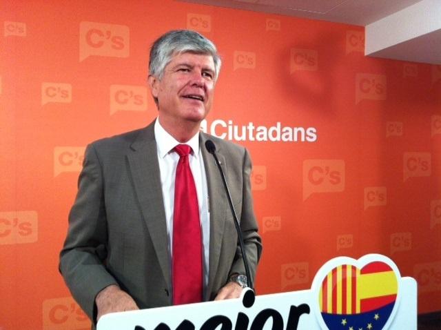Alonso (C»s) acusa a Mas de querer romper los fundamentos del Estado de Derecho