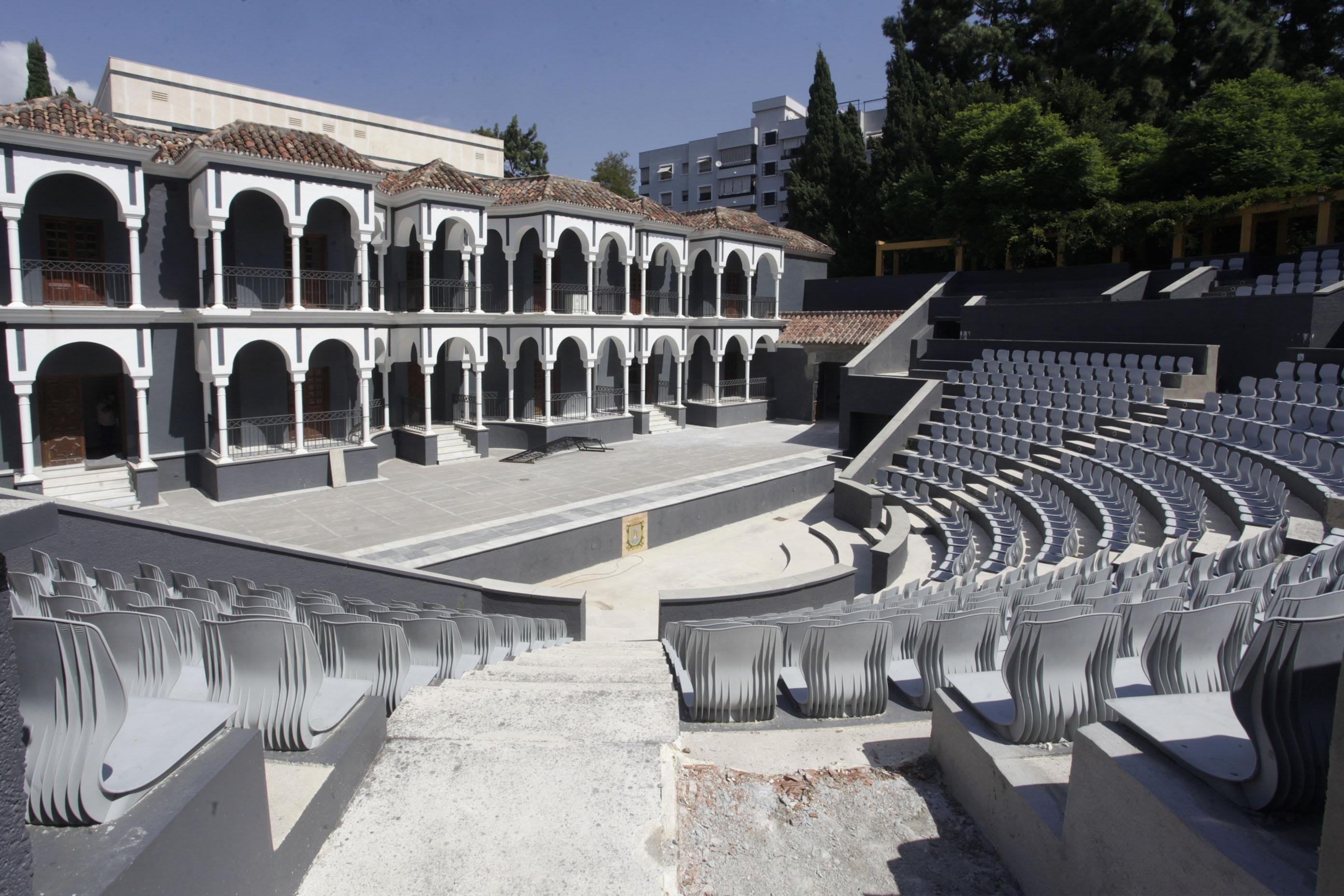 El Ayuntamiento de Marbella acomete el acondicionamiento del Auditorium municipal del Parque de la Constitución