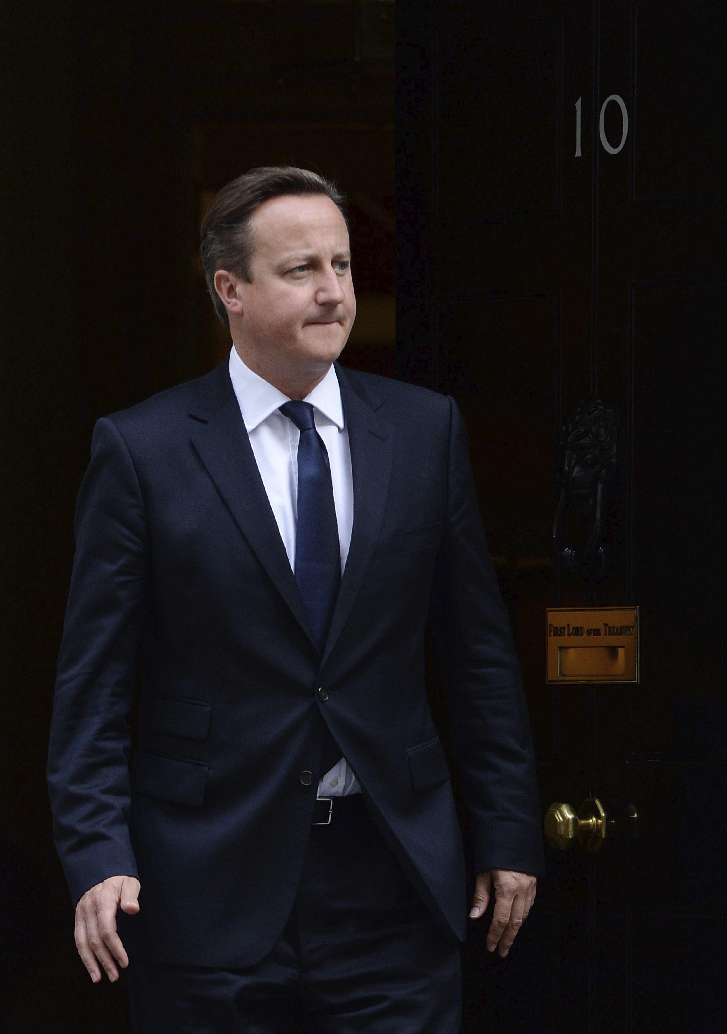 El Gobierno británico dice que trabajará «de manera estrecha» con Merkel