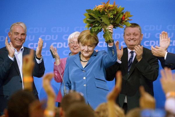 Los medios de todo el mundo destacan la aplastante victoria de Merkel