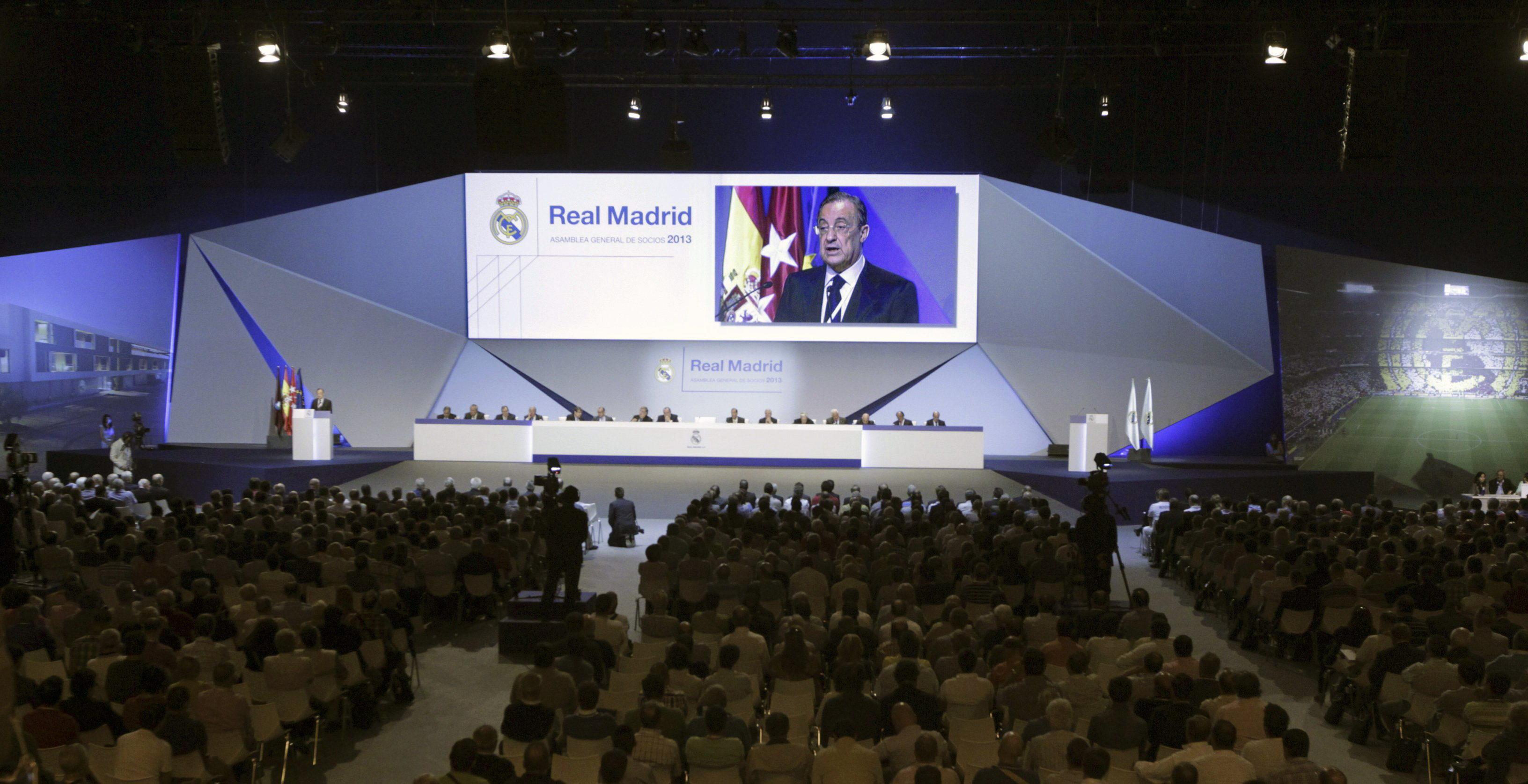 Florentino Pérez afirma que «no va a fichar a nadie»