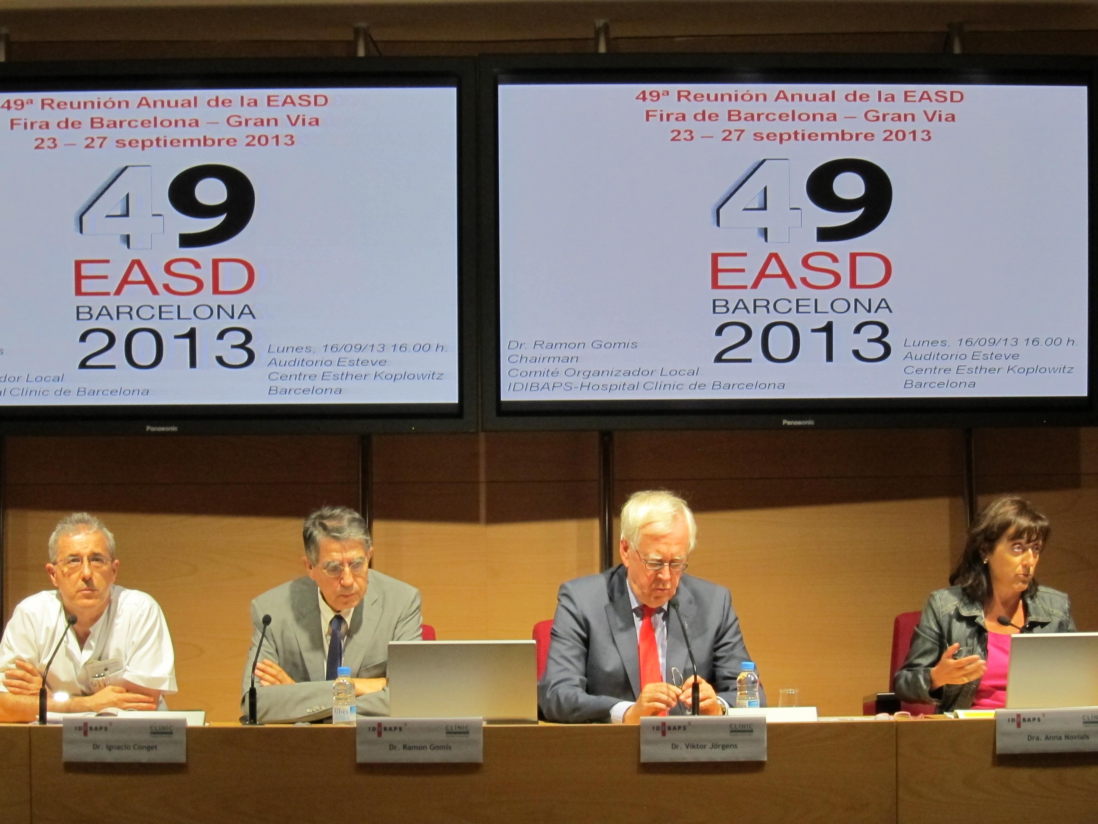 Abre las puertas en Barcelona el Congreso Europeo de Diabetes con más de 20.000 inscritos