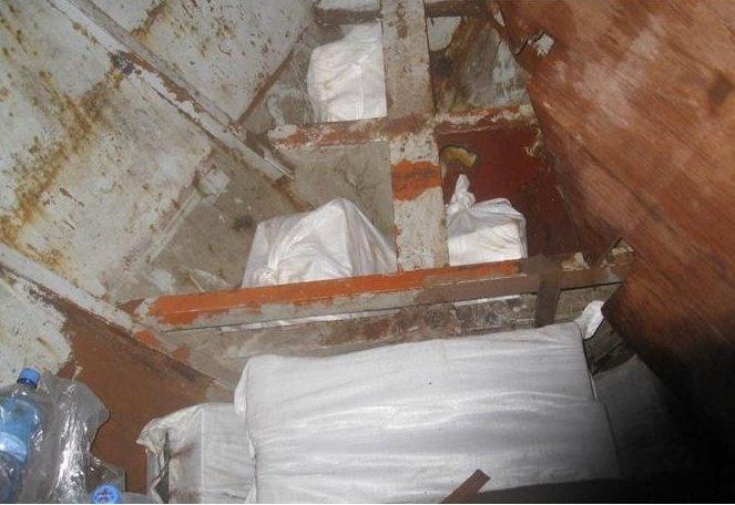 La Agencia Tributaria llega a Canarias tras interceptar en alta mar un pesquero con 450 kilos de cocaína