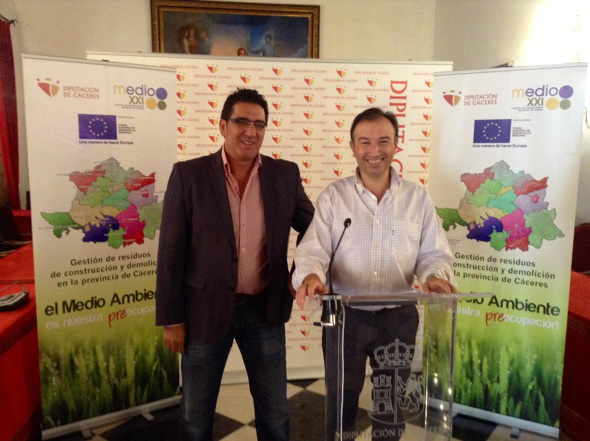 La Diputación de Cáceres saca a concurso las obras para la implantación de centros de gestión de residuos de la zona sur