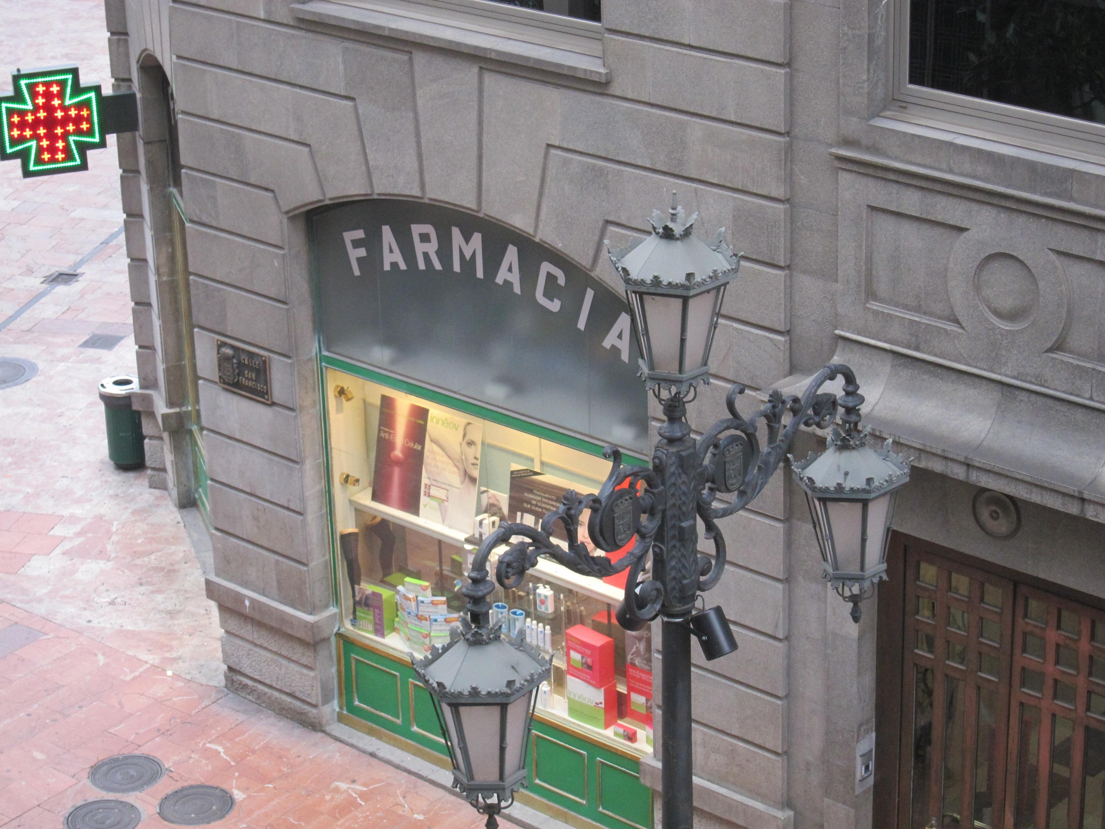 España es uno de los países europeos que menos habitantes tiene por farmacia