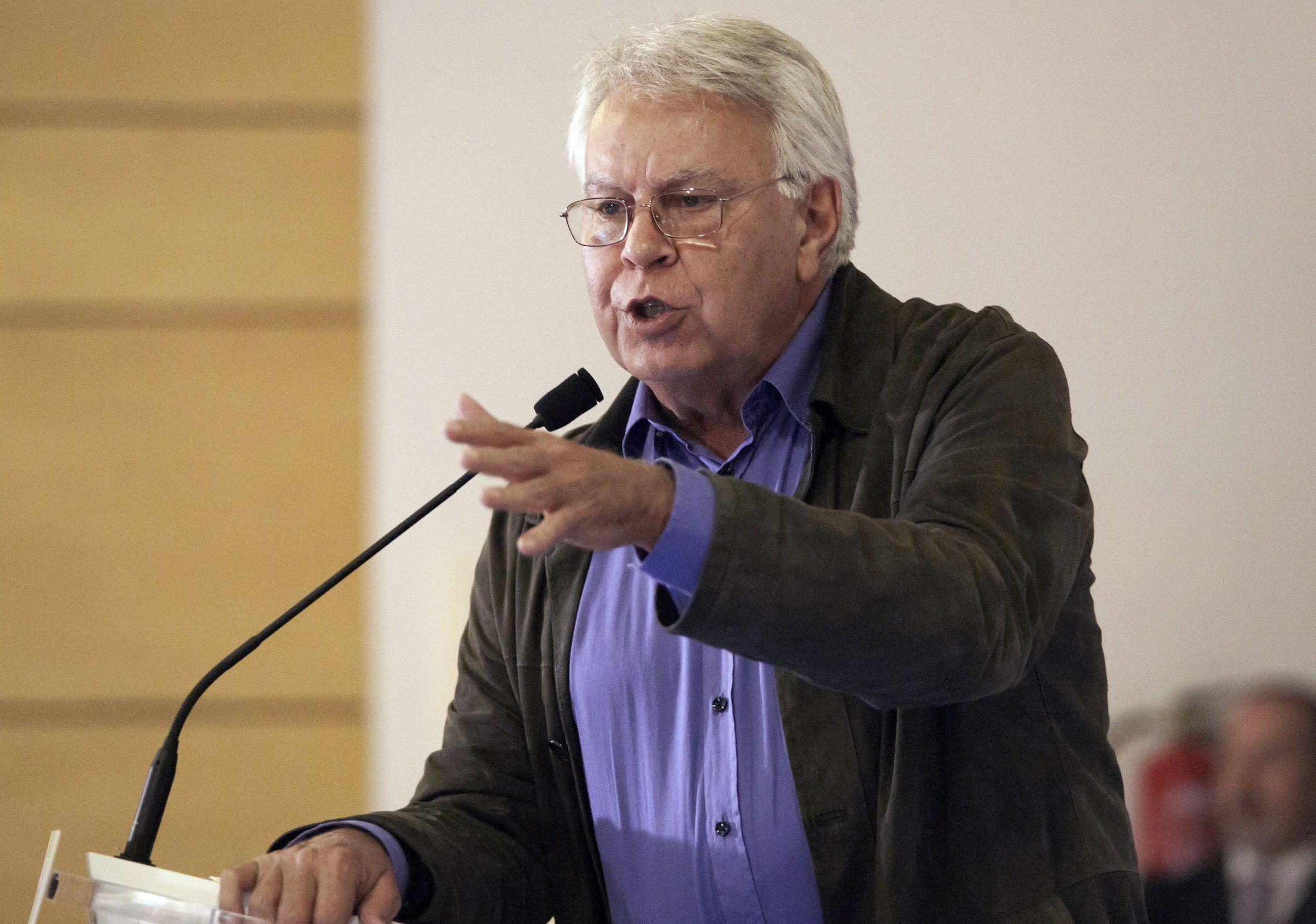 Felipe González afirma que la independencia de Catalunya como objetivo es imposible
