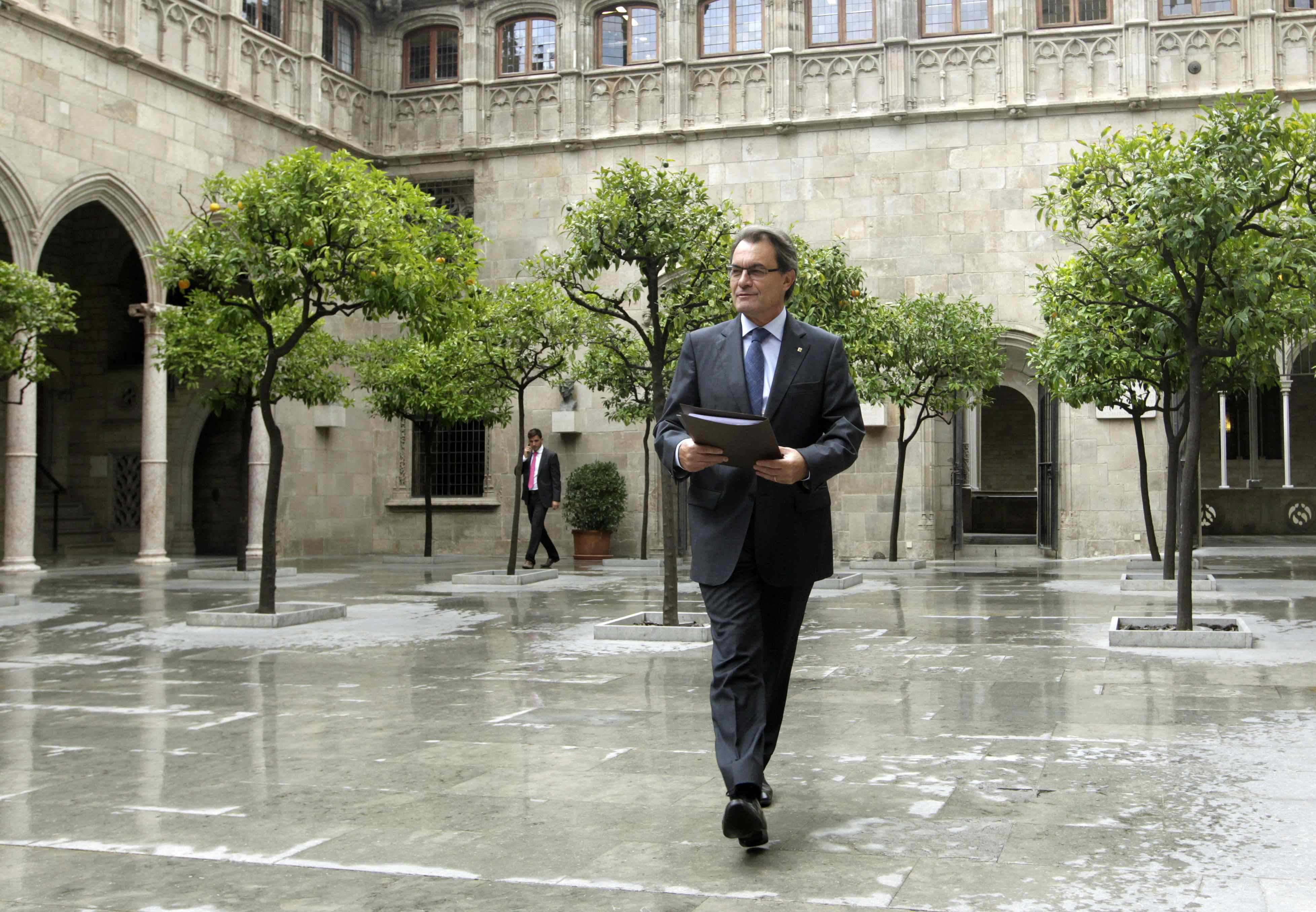 La empresa del cuñado de Mas pasa de facturar 5 millones con la Generalitat a 322
