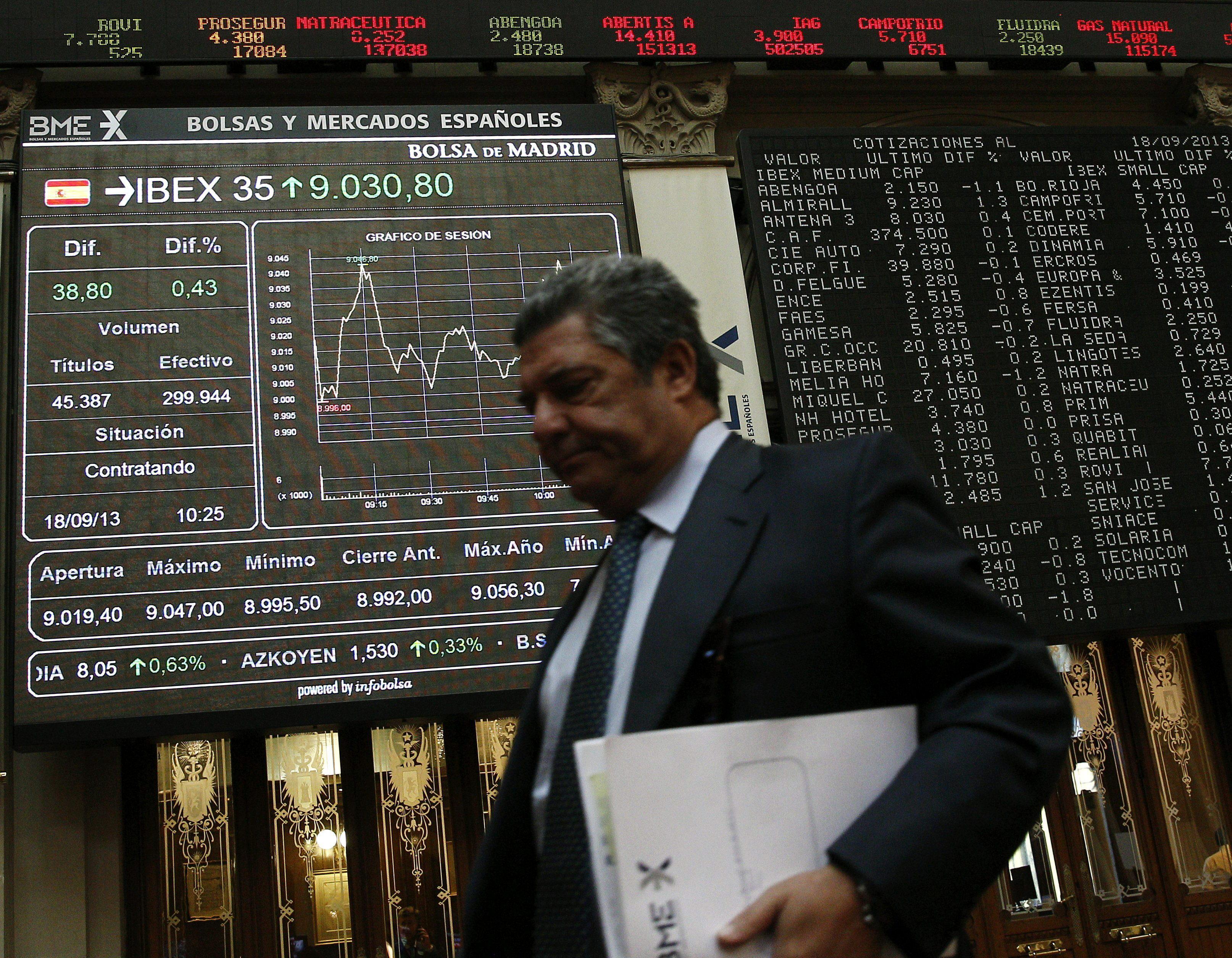 El IBEX corrige desde máximos y cede el 0,22 por ciento en la apertura