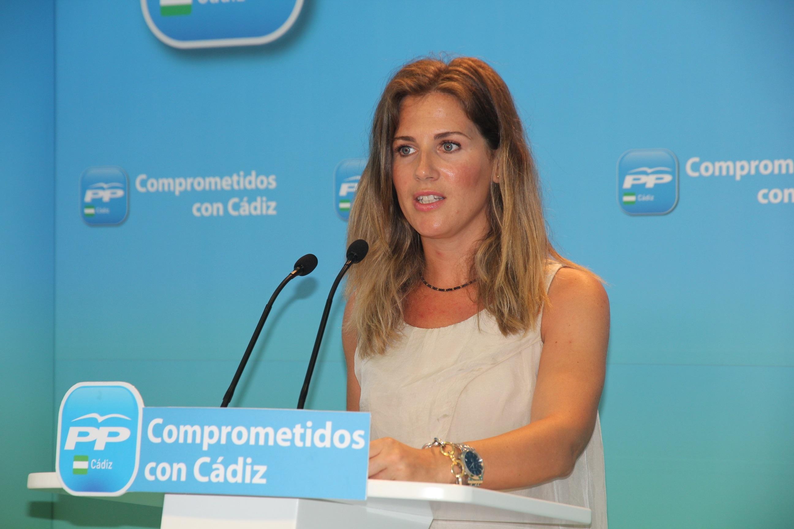 La portavoz del PP de Cádiz, Ana Mestre, candidata a la alcaldía de Sanlúcar de Barrameda