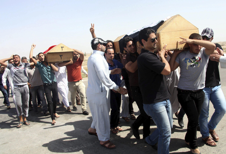 Cinco muertos y treinta heridos en un atentado durante un funeral en Bagdad