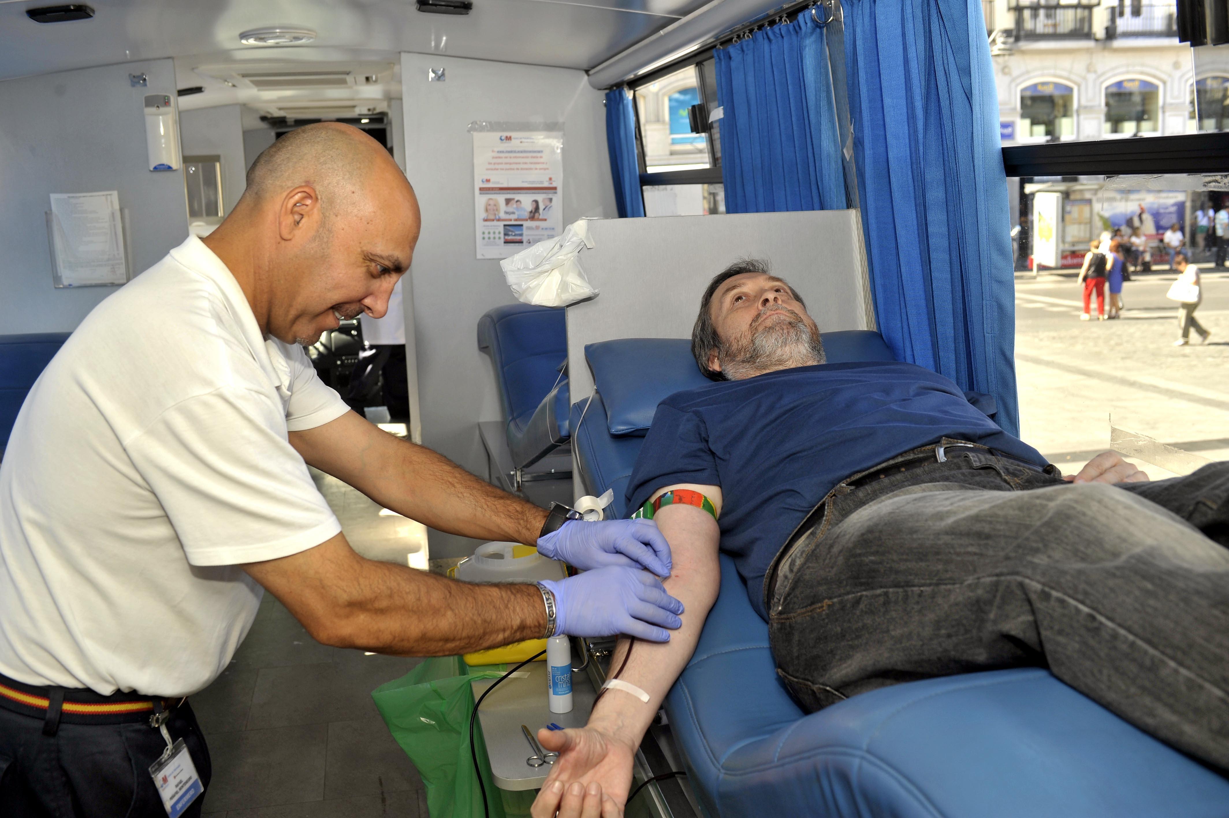 Se necesita urgentemente donaciones de sangre de los tipos AB- y B-