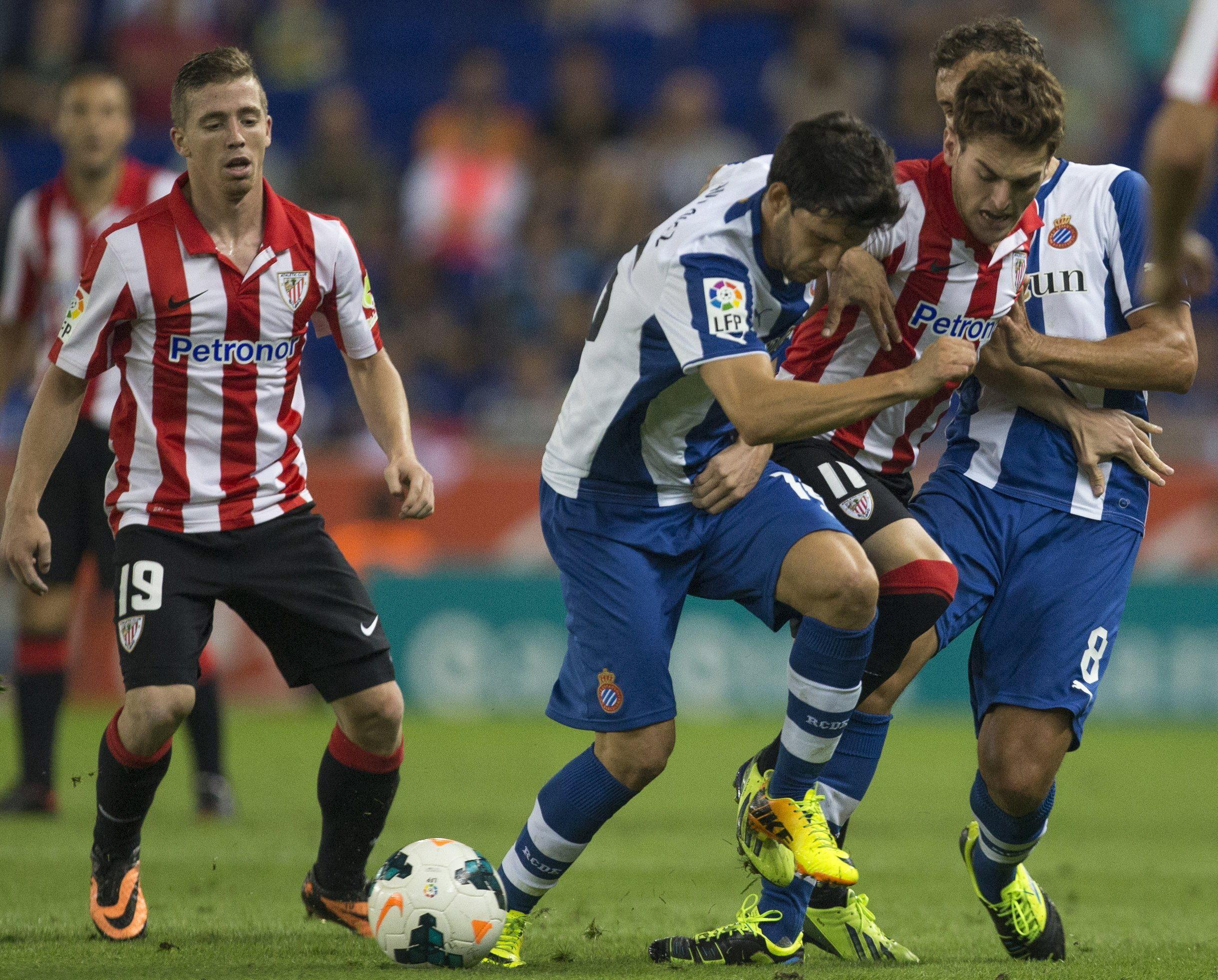 3-2. El Espanyol se afianza en Europa tras doblegar al Athletic