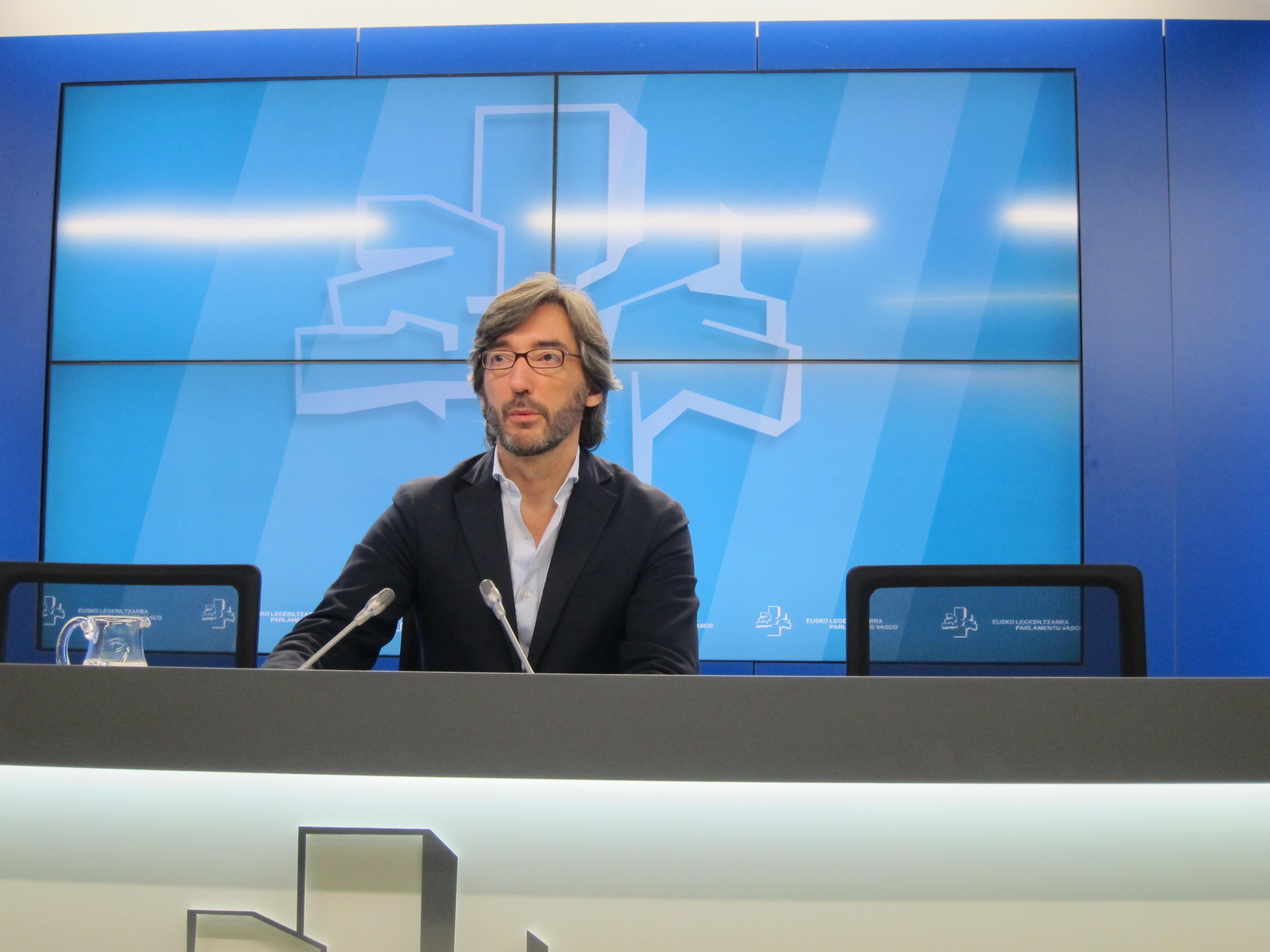 PP vasco rechaza que esté «loco por entrar» en el pacto PNV-PSE si no se «corrige»