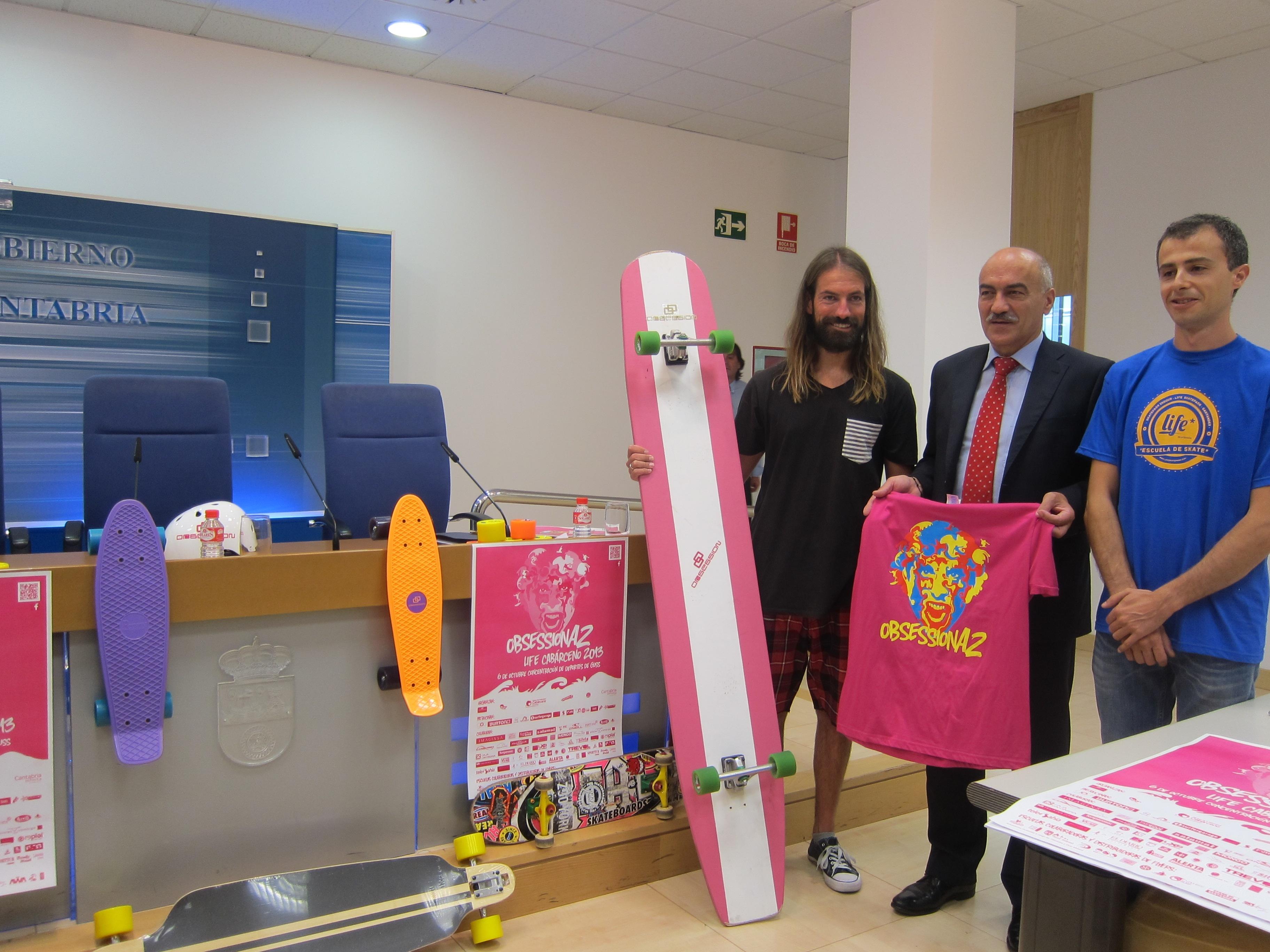 Cabárceno acogerá el próximo 6 de octubre una nueva edición de »Obsessiona2», con el skate como protagonista