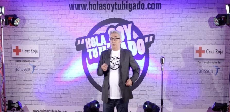 Leo Harlem se une a la campaña »Hola, soy tu hígado» para sensibilizar con humor sobre las enfermedades hepáticas