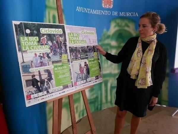 Murcia acoge el domingo su primera CicloVida, con el lema »Haz que tu vida ruede», para fomentar el uso de la bicicleta