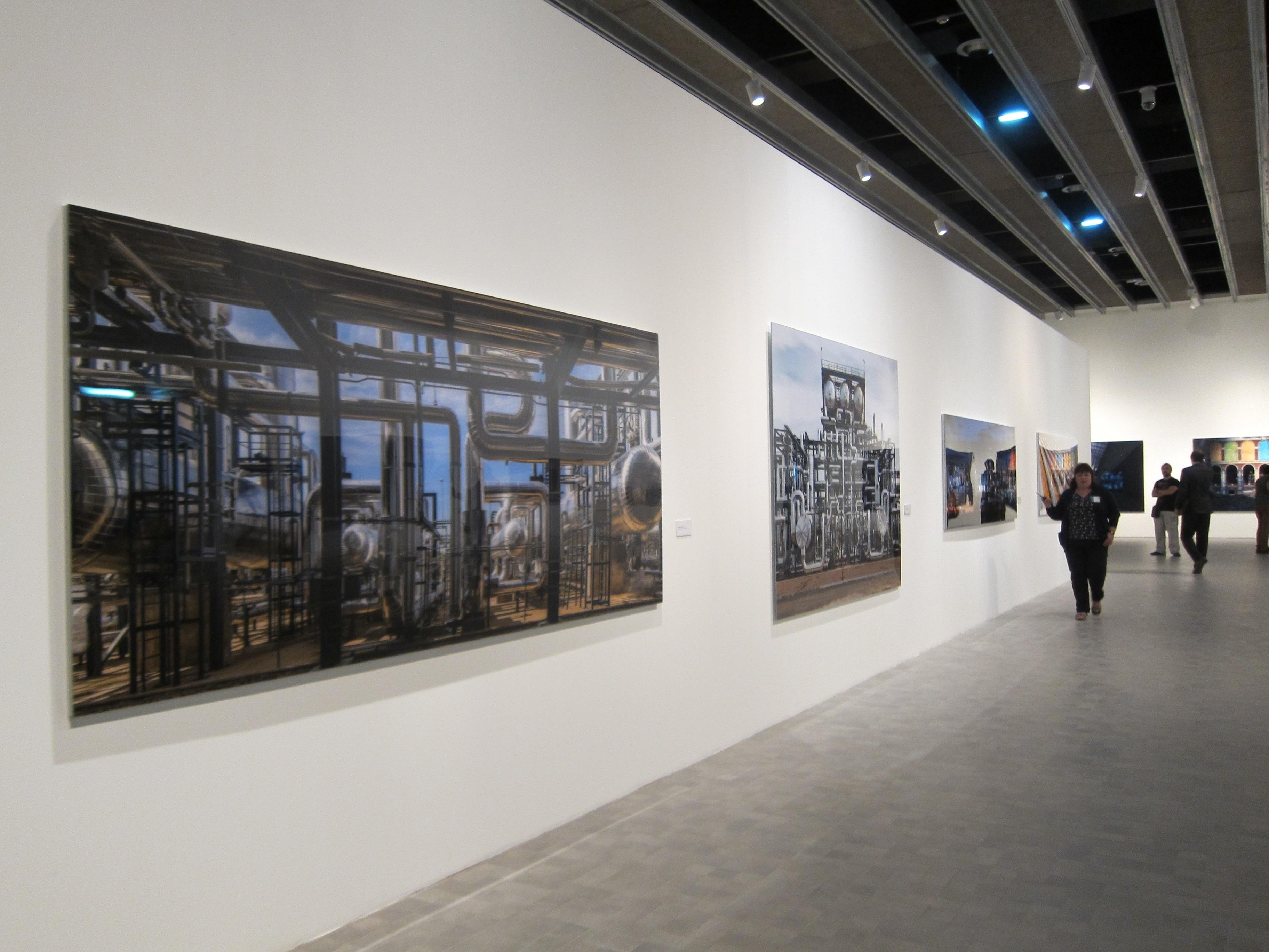 La exposición »Bosques de Luz» ofrece una treintena de obras del fotógrafo José Manuel Ballester