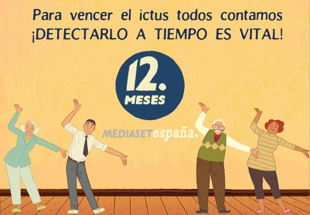 María Teresa Campos se somete a una prueba de salud cerebrovascular en la nueva campaña de »12 Meses» de Mediaset