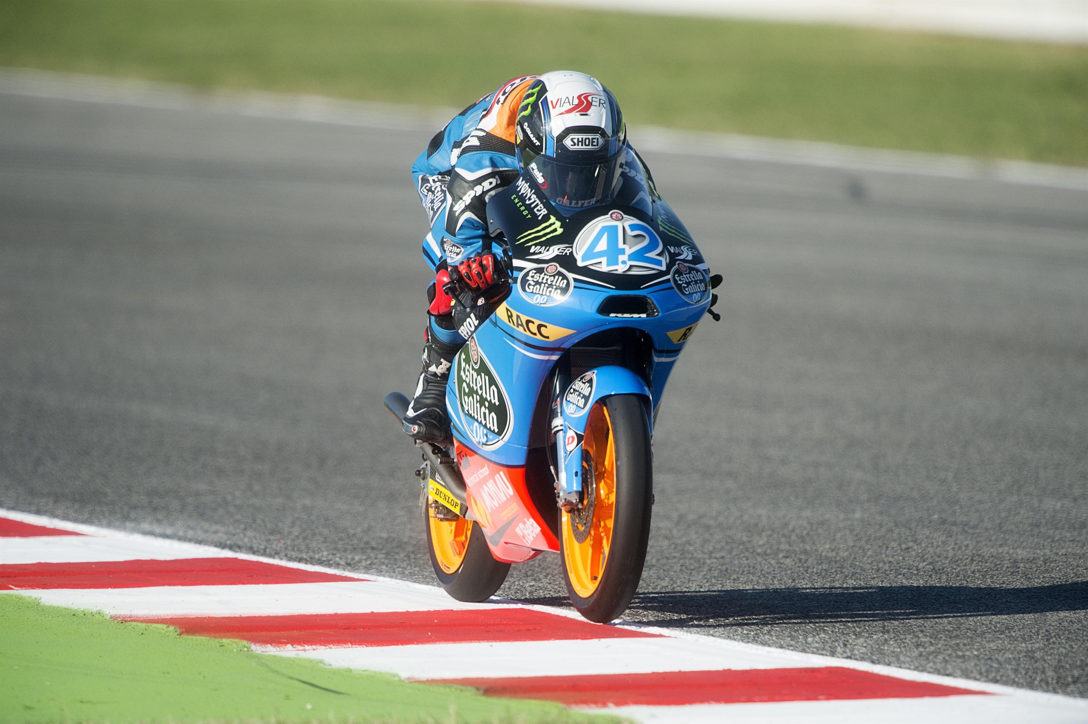 Rins vuela en Aragón y se hace con la »pole» en Motorland