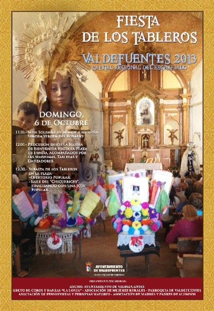La Fiesta de »Los Tableros» de la localidad cacereña de Valdefuentes homenajeará este domingo a la Virgen del Rosario