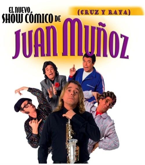 El humorista Juan Muñoz presenta su nuevo »Show Cómico» en el Teatro López de Ayala de Badajoz