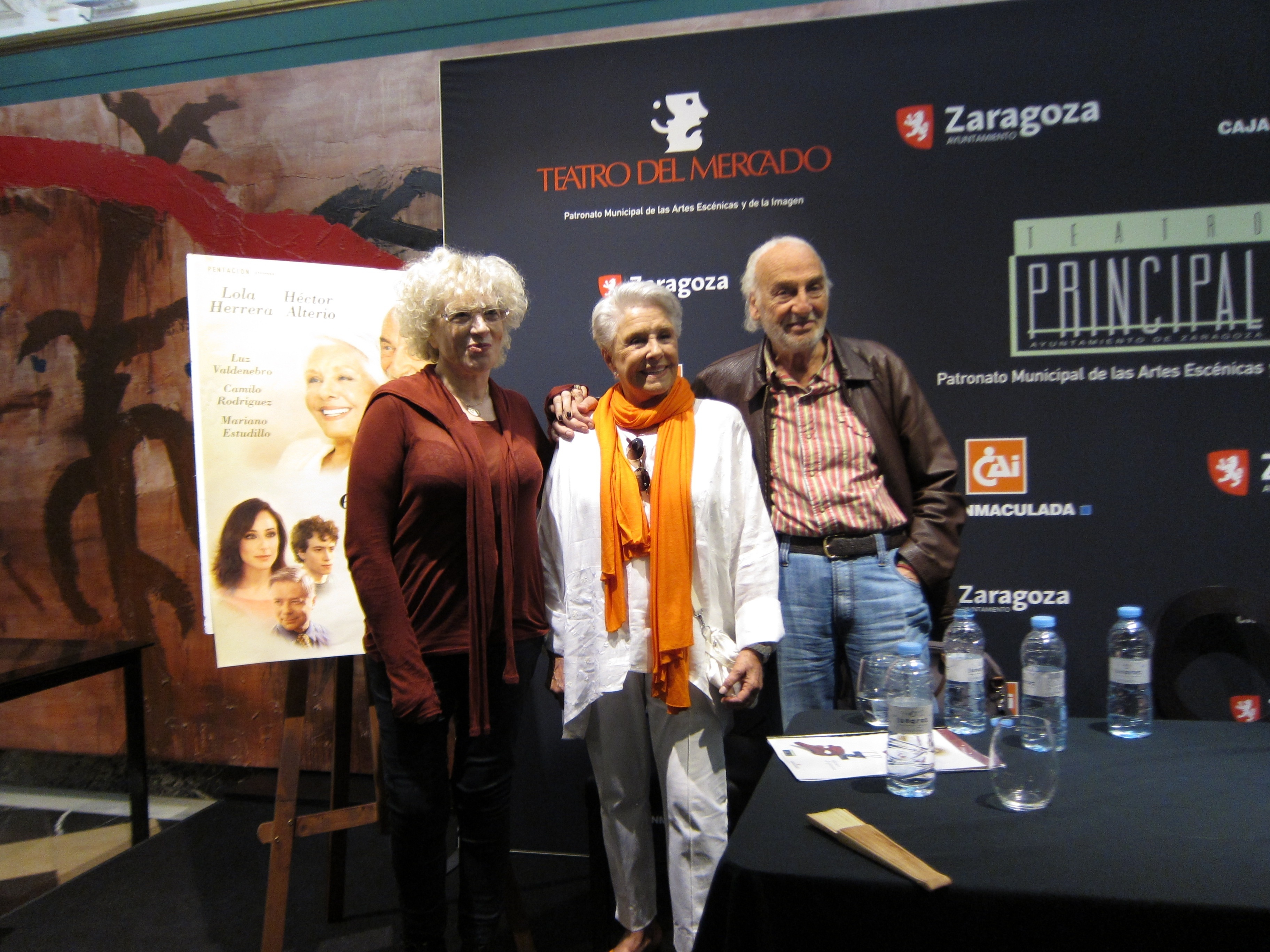 Lola Herrera y Héctor Alterio «golpean el corazón» del público con estreno nacional de »En el estanque dorado»