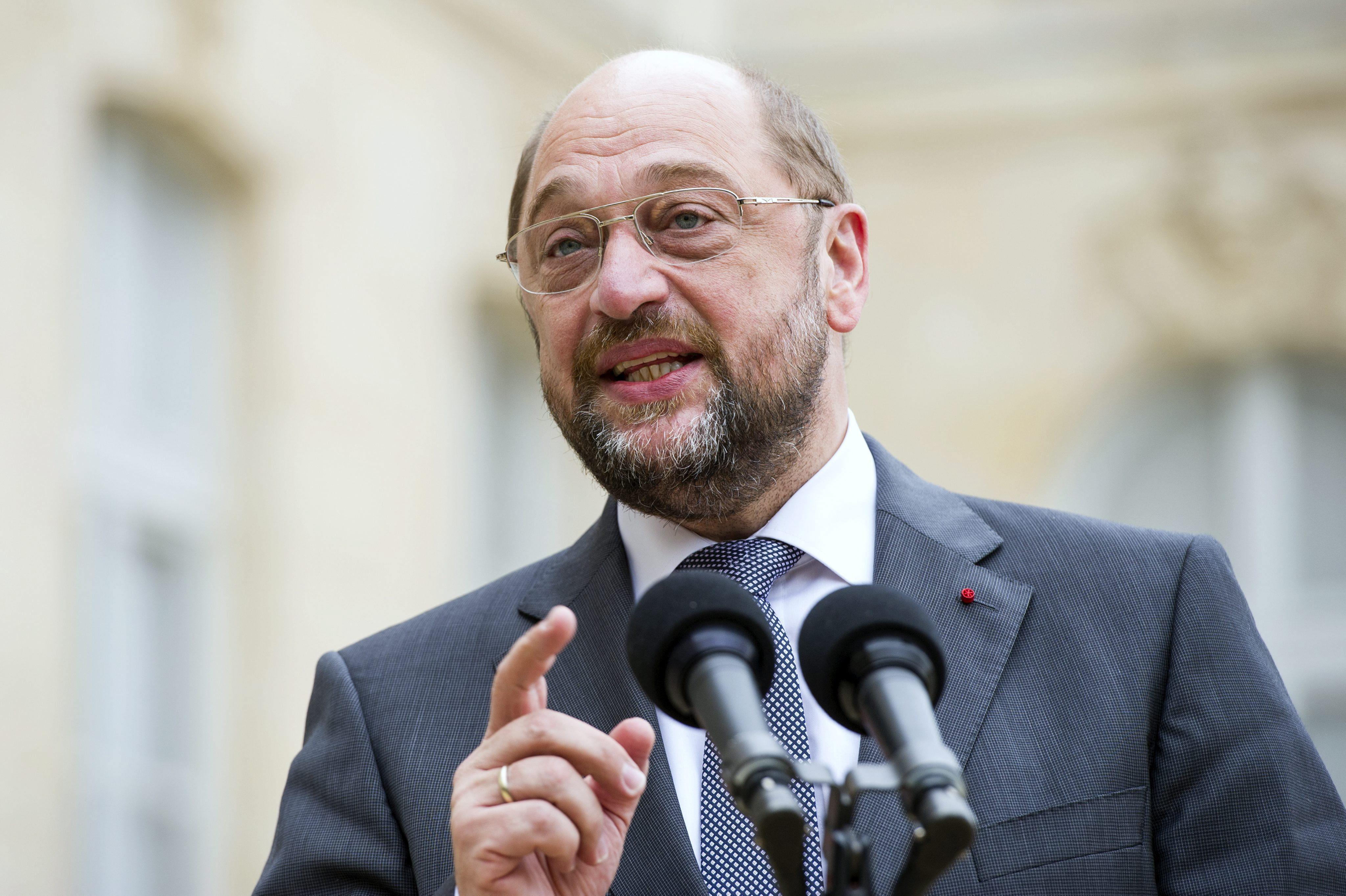 Los socialdemócratas en el PE formalizan su apoyo a Schulz para elecciones