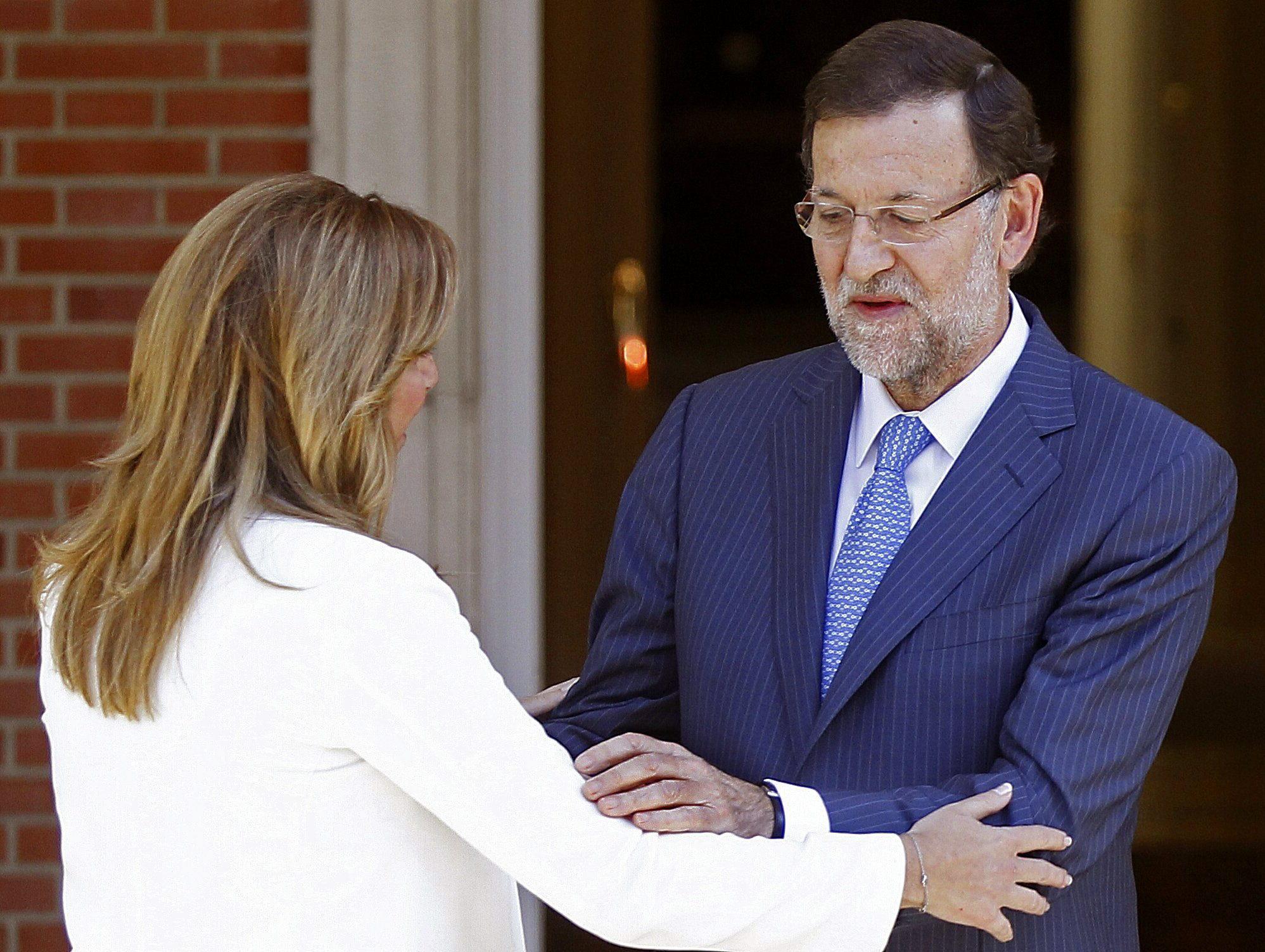 Díaz ve a Rajoy receptivo al pacto anticorrupción, que no choca con Rubalcaba