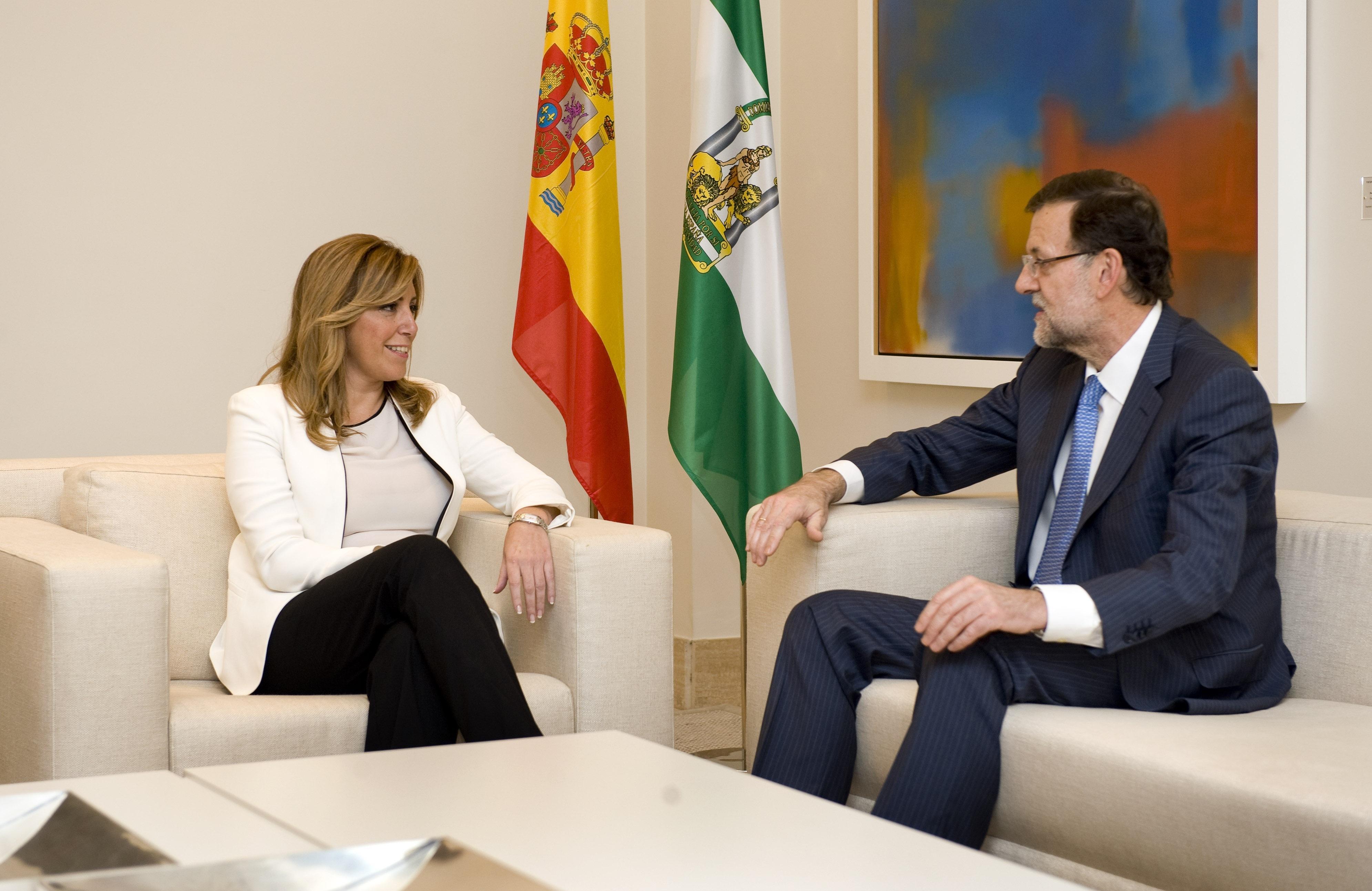 Rajoy dice que trasladará a Montoro la demanda andaluza que relaciona inversión para siete años con peso poblacional
