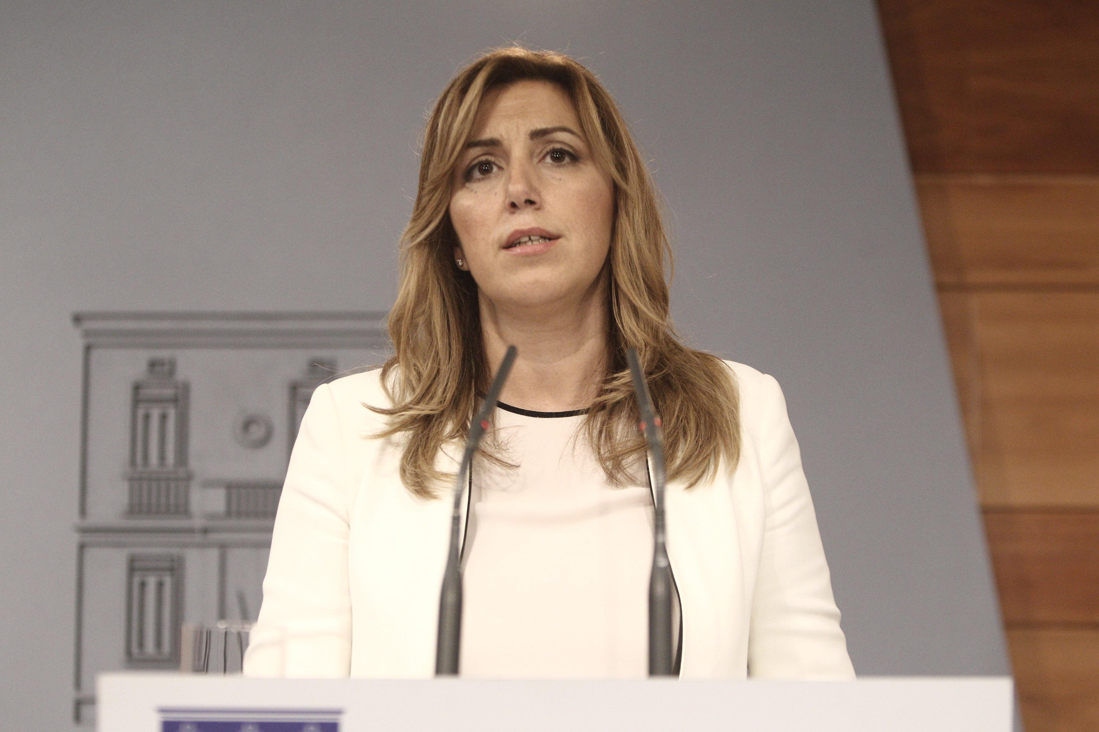 Susana Díaz dice que Rajoy también ve necesario un pacto contra la corrupción