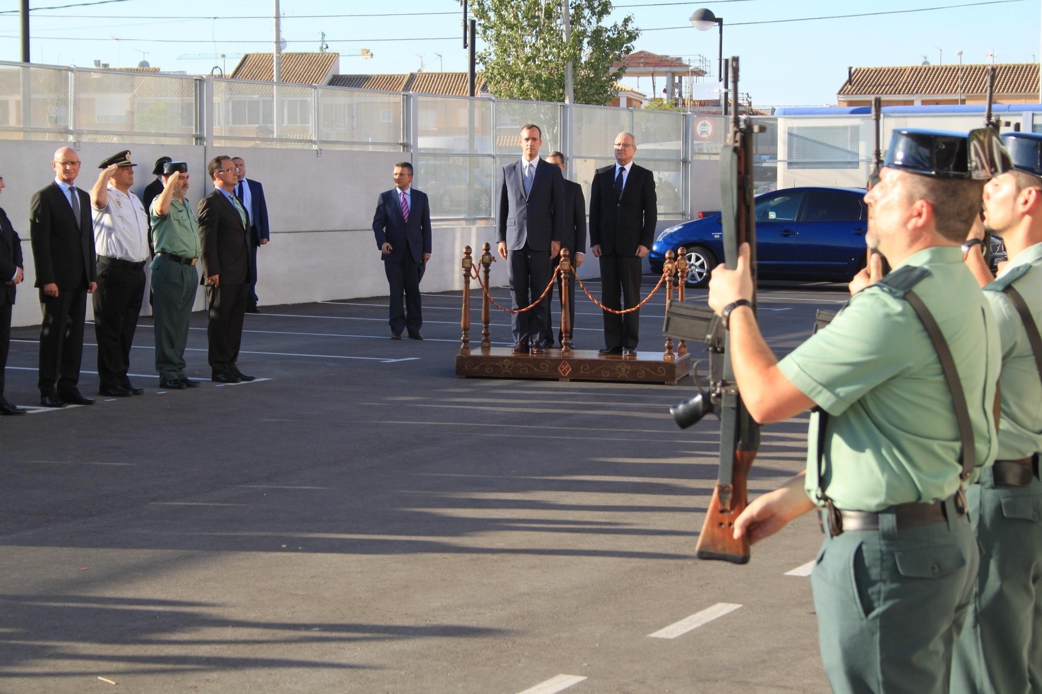 Las Torres de Cotillas cuenta con un nuevo Puesto de la Guardia Civil con 590 m2 y capacidad para 48 agentes