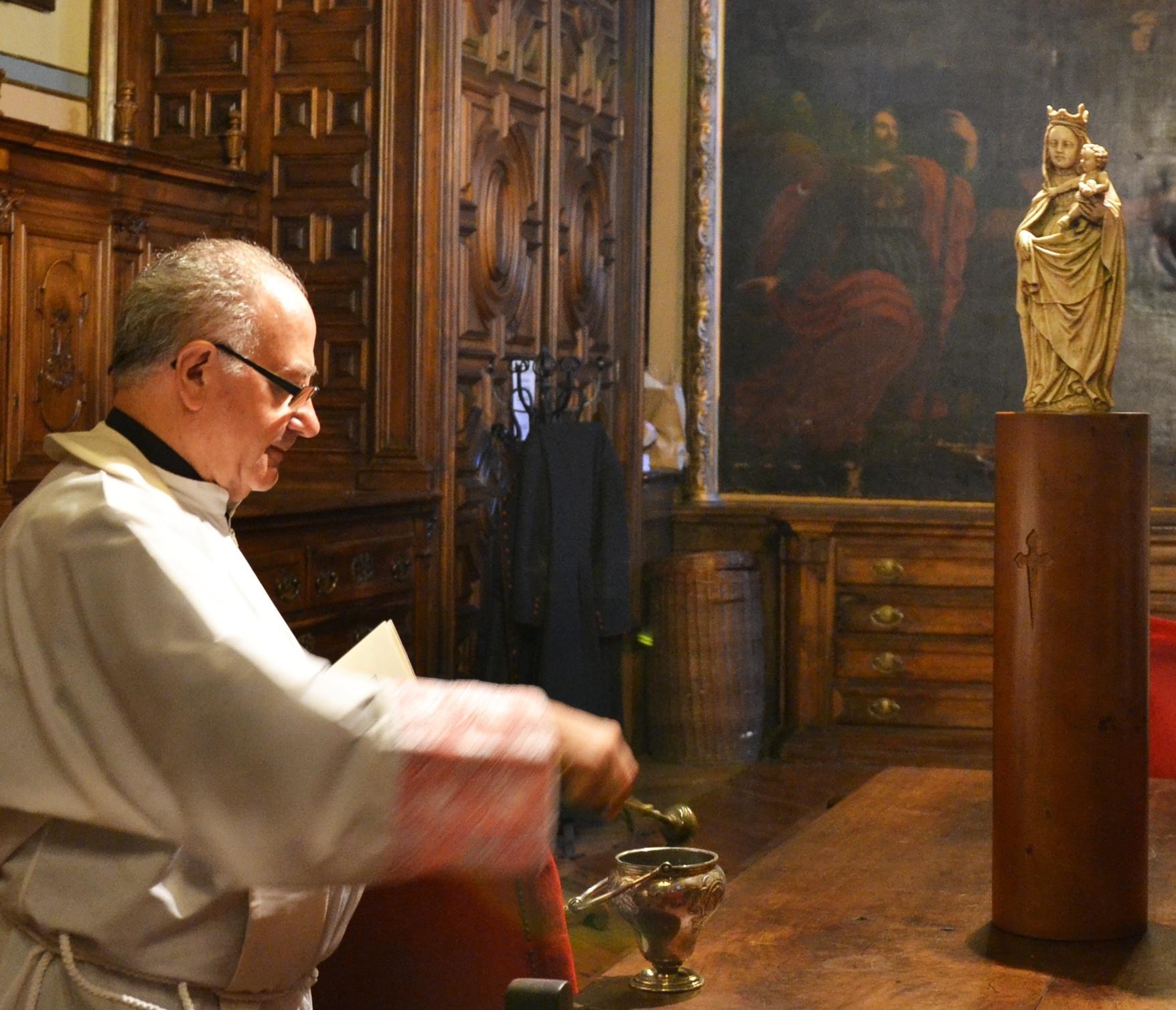 Una imagen de la Virgen del Pilar, bendecida en Zaragoza, presidirá en Miami (EE.UU.) una misa este sábado
